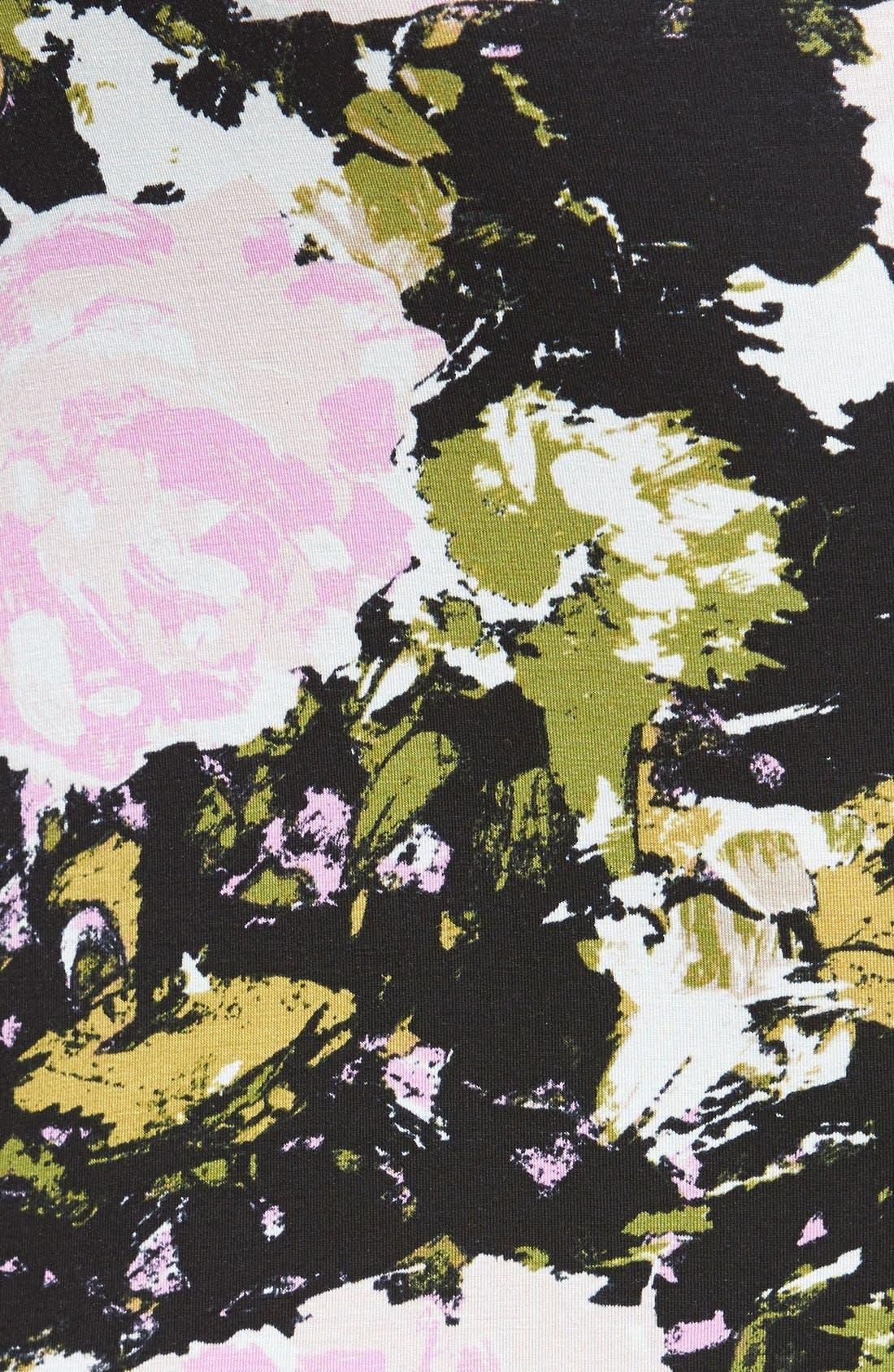 Alternate Image 3  - Leith High Waist Print Midi Skirt