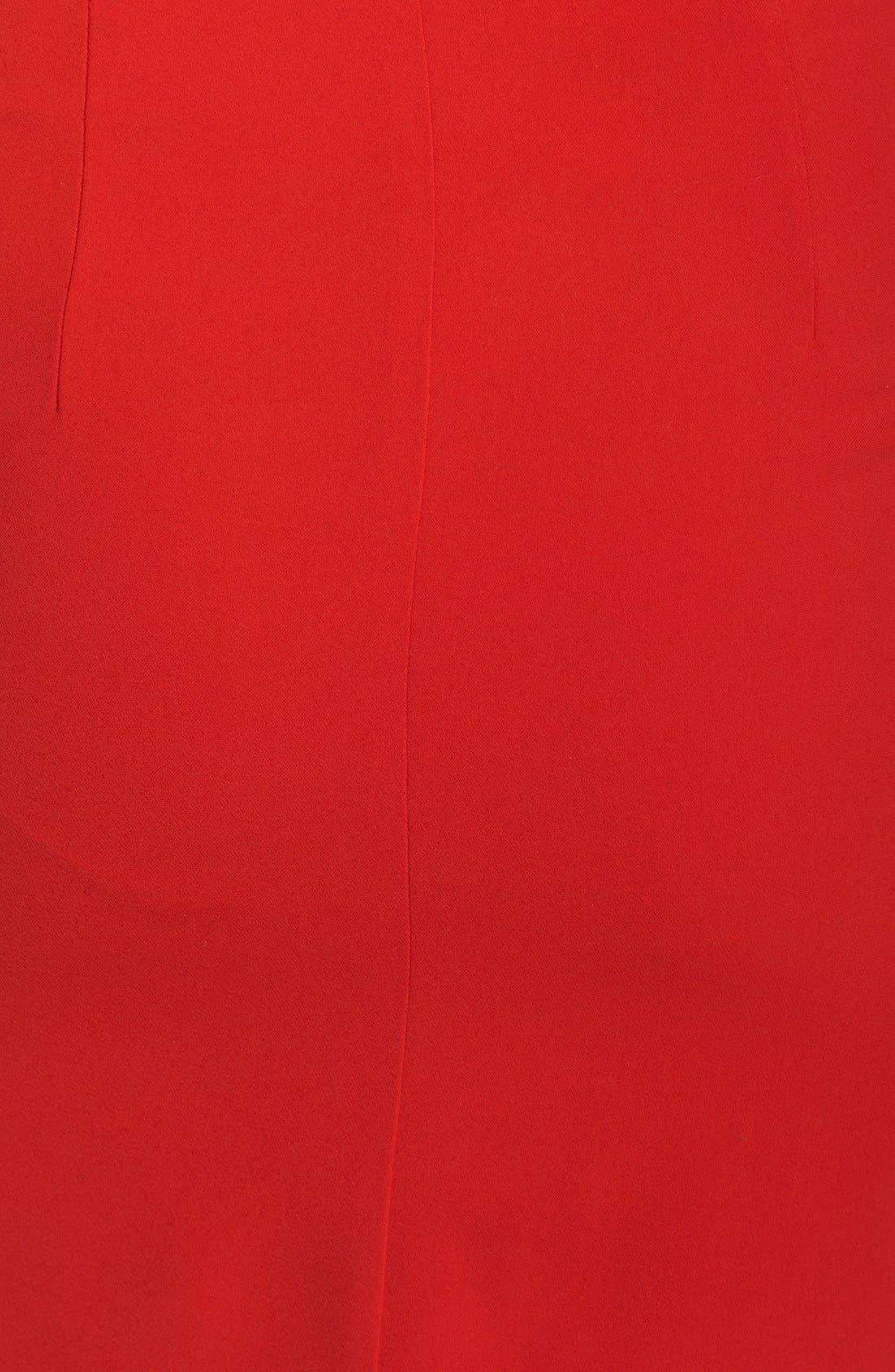 Alternate Image 4  - Clove Back Cutout Pleated Blouson Dress (Nordstrom Exclusive)