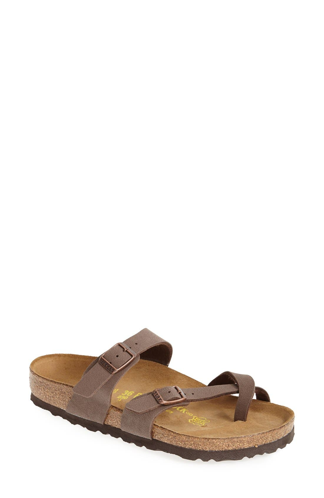Alternate Image 1 Selected - Birkenstock Mayari Birko-Flor Sandal (Women)