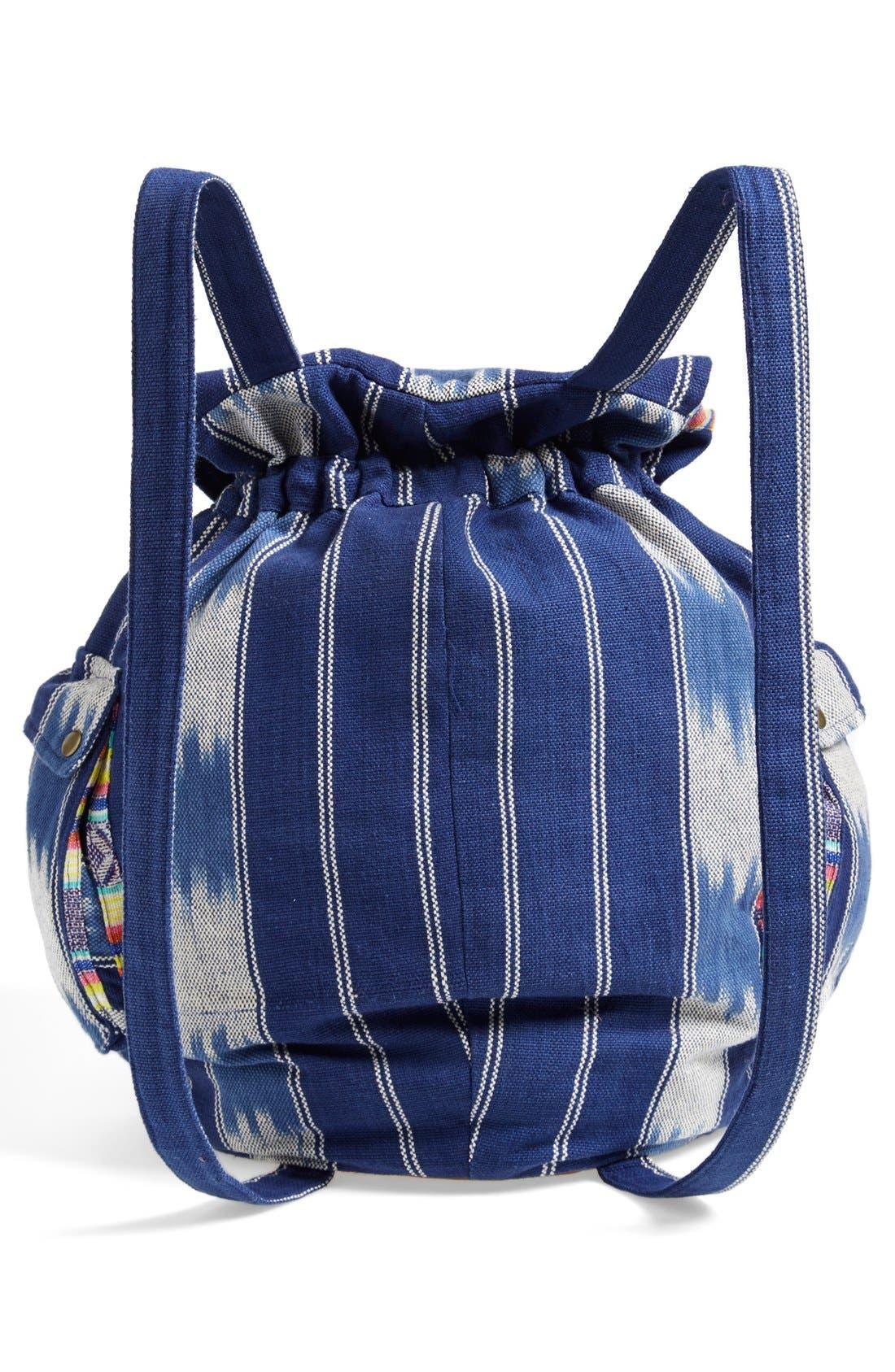 Alternate Image 4  - Billabong 'Indian Surf' Woven Backpack