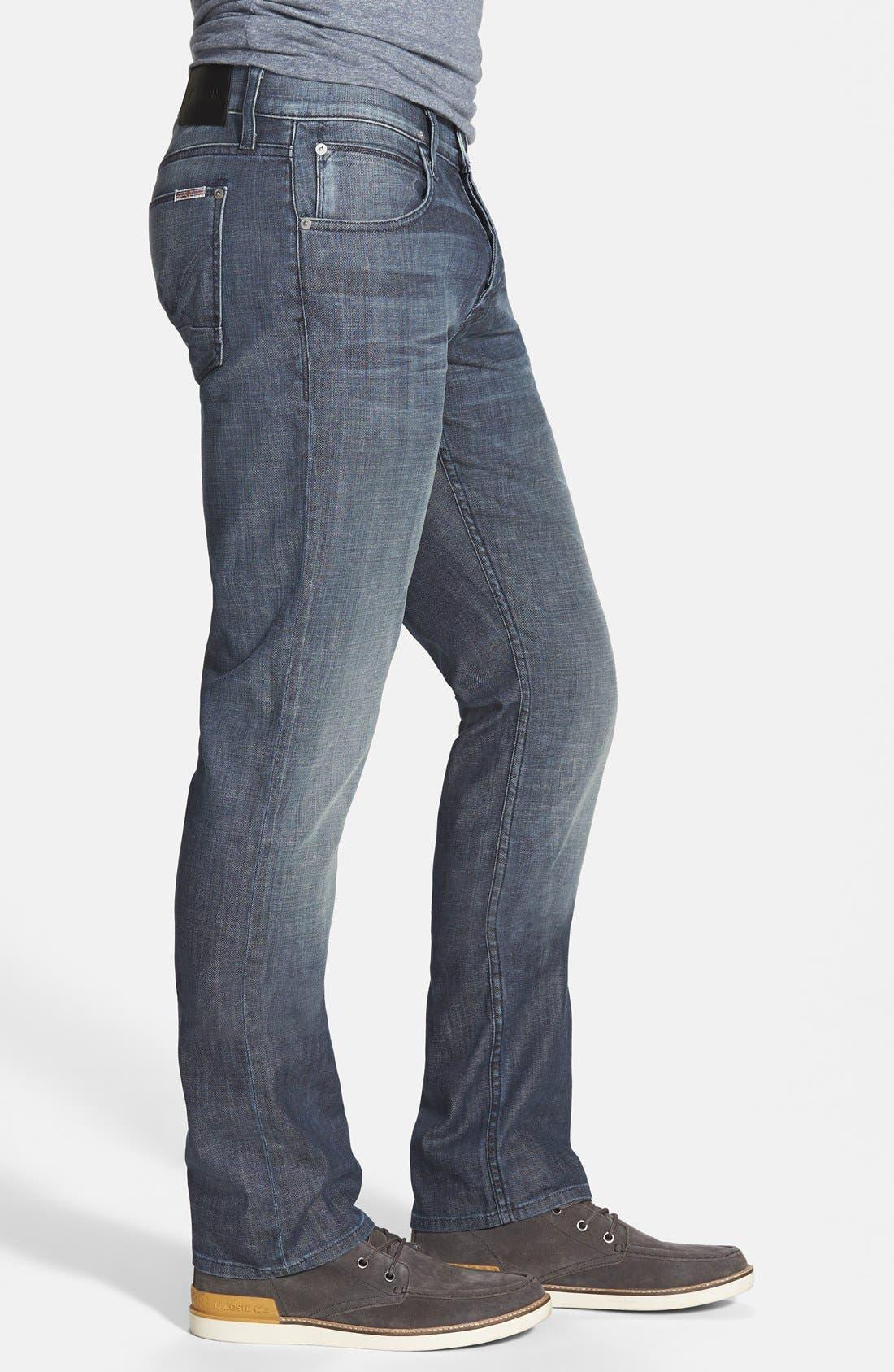 Alternate Image 2  - Hudson Jeans 'Byron' Slim Straight Leg Jeans (Commander)