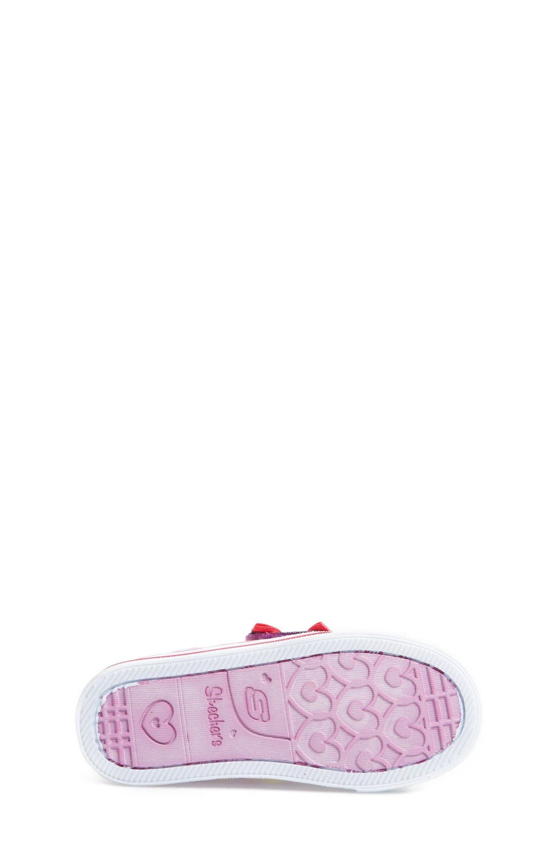 Alternate Image 4  - SKECHERS 'Twinkle Toes - Shuffles Jumpin Jigsaw' Light-Up Sneaker (Toddler)