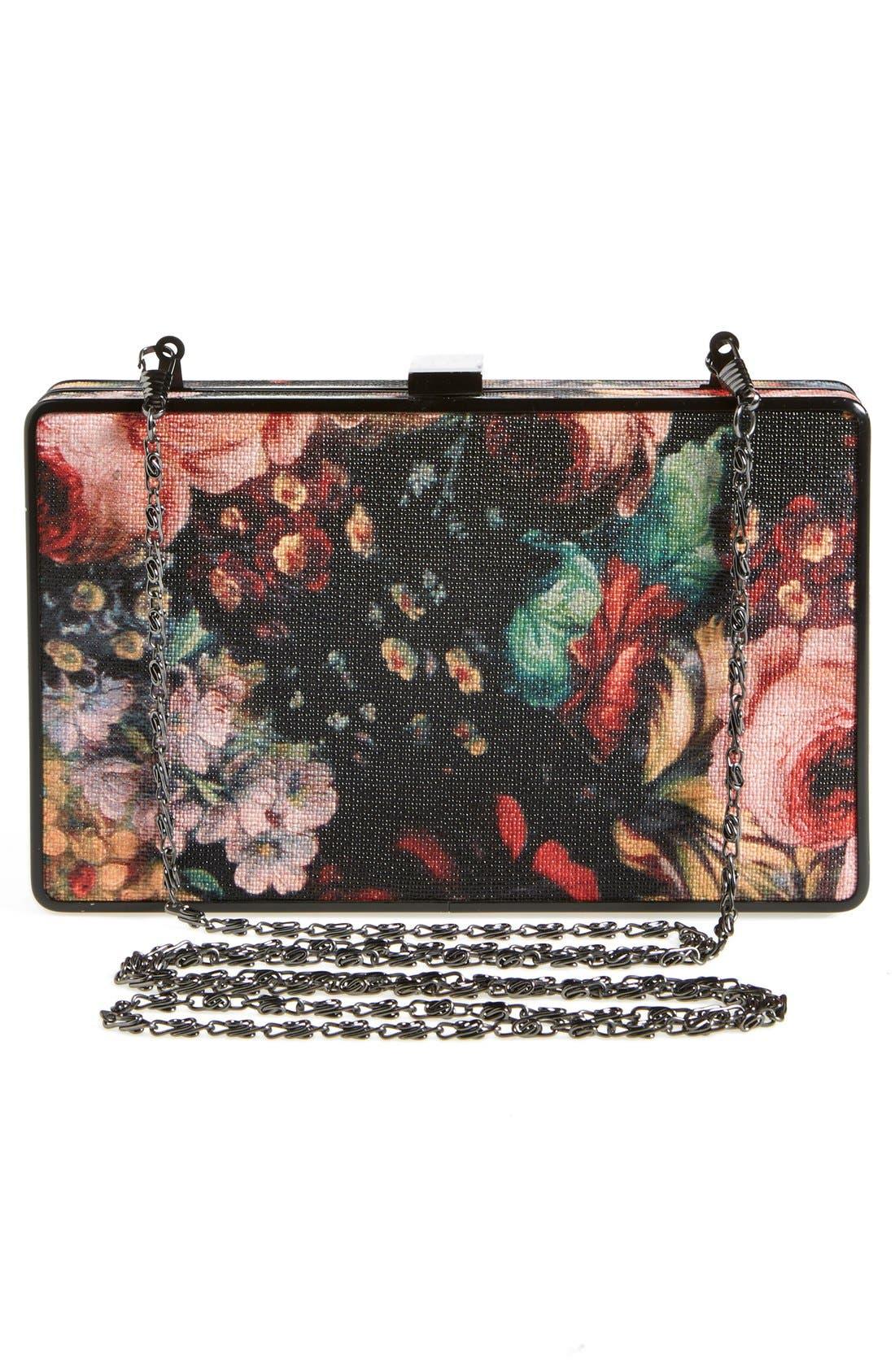 Alternate Image 4  - Natasha Couture Floral Clutch