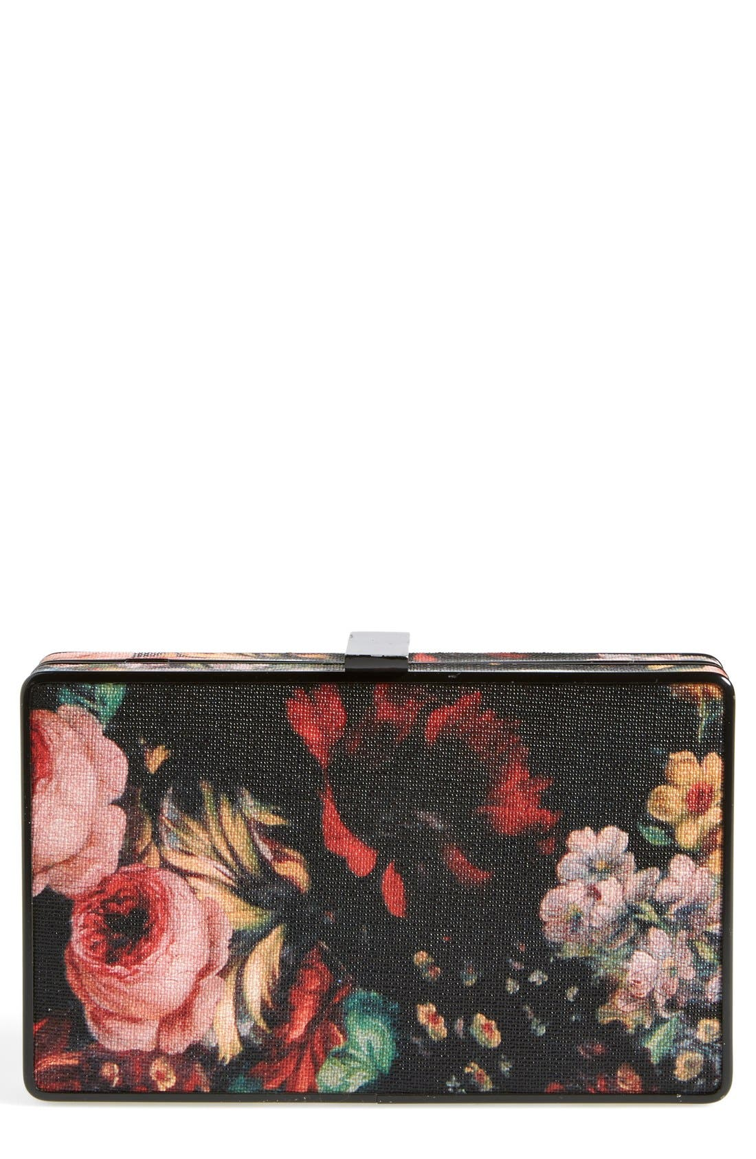 Alternate Image 1 Selected - Natasha Couture Floral Clutch