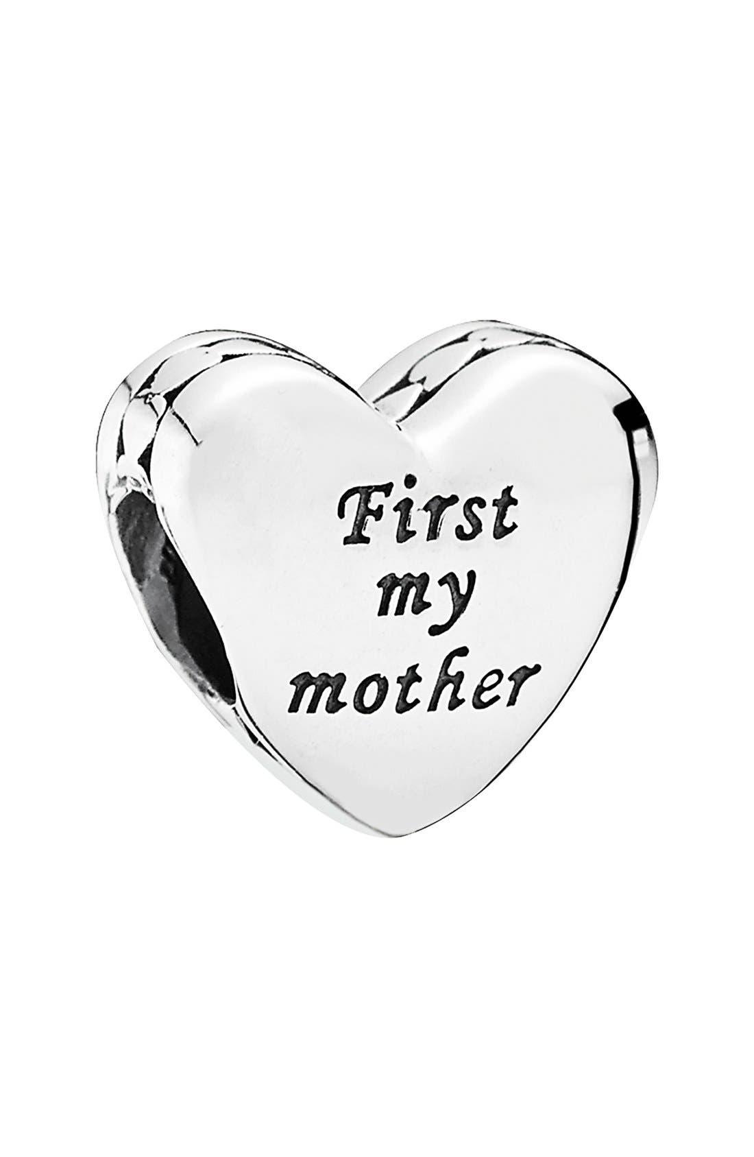 Alternate Image 1 Selected - PANDORA 'Mother & Friend' Heart Bead Charm