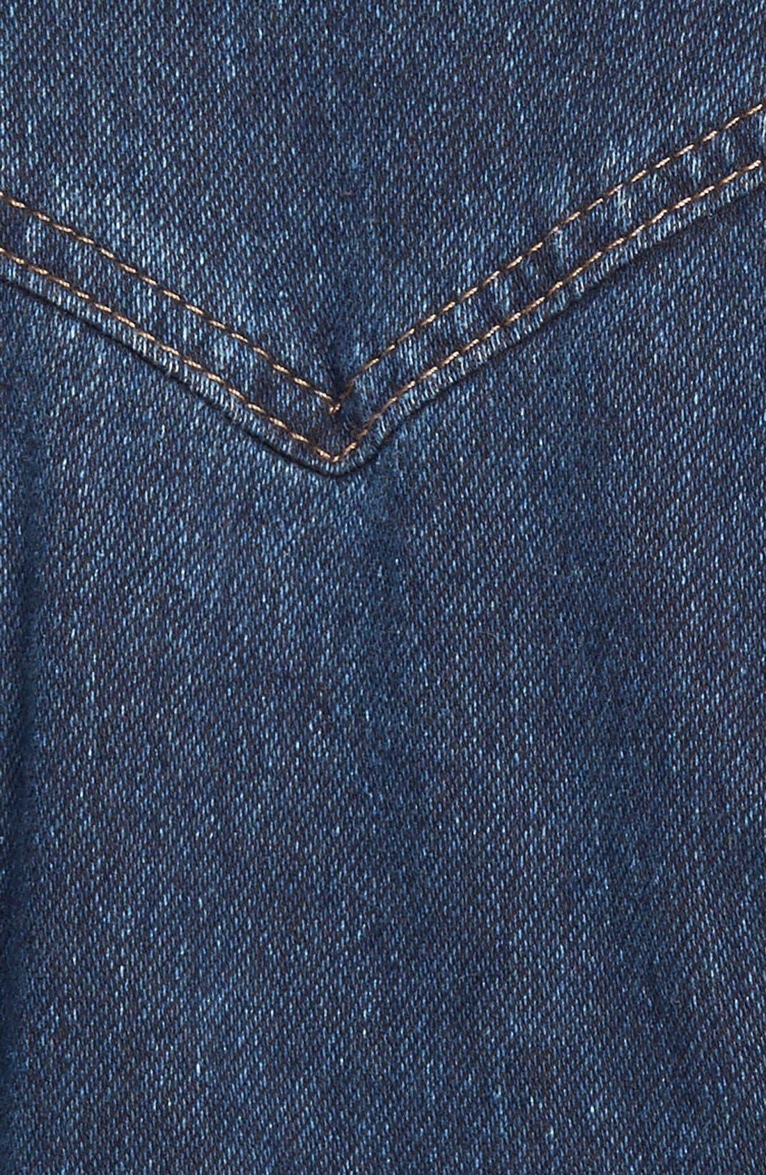 Alternate Image 3  - Jessica Simpson 'Pixie' Denim Jacket (Plus Size)