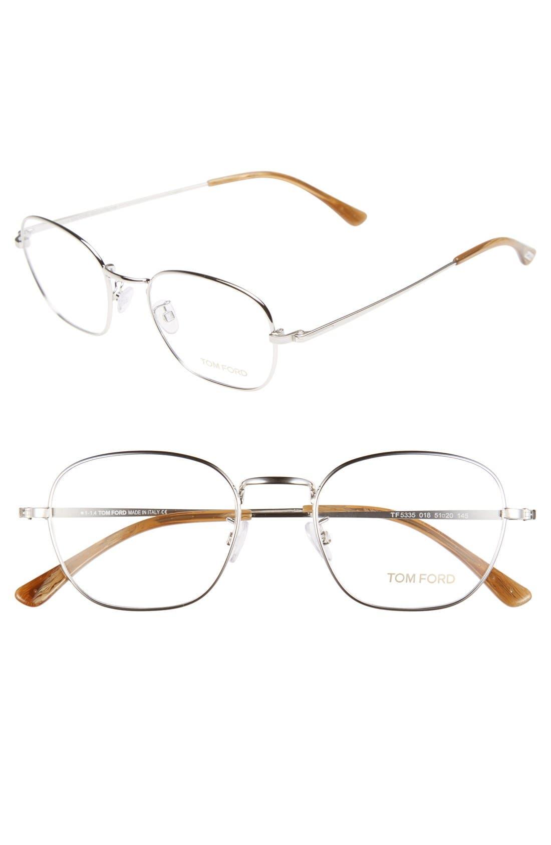 Alternate Image 1 Selected - Tom Ford 51mm Optical Glasses