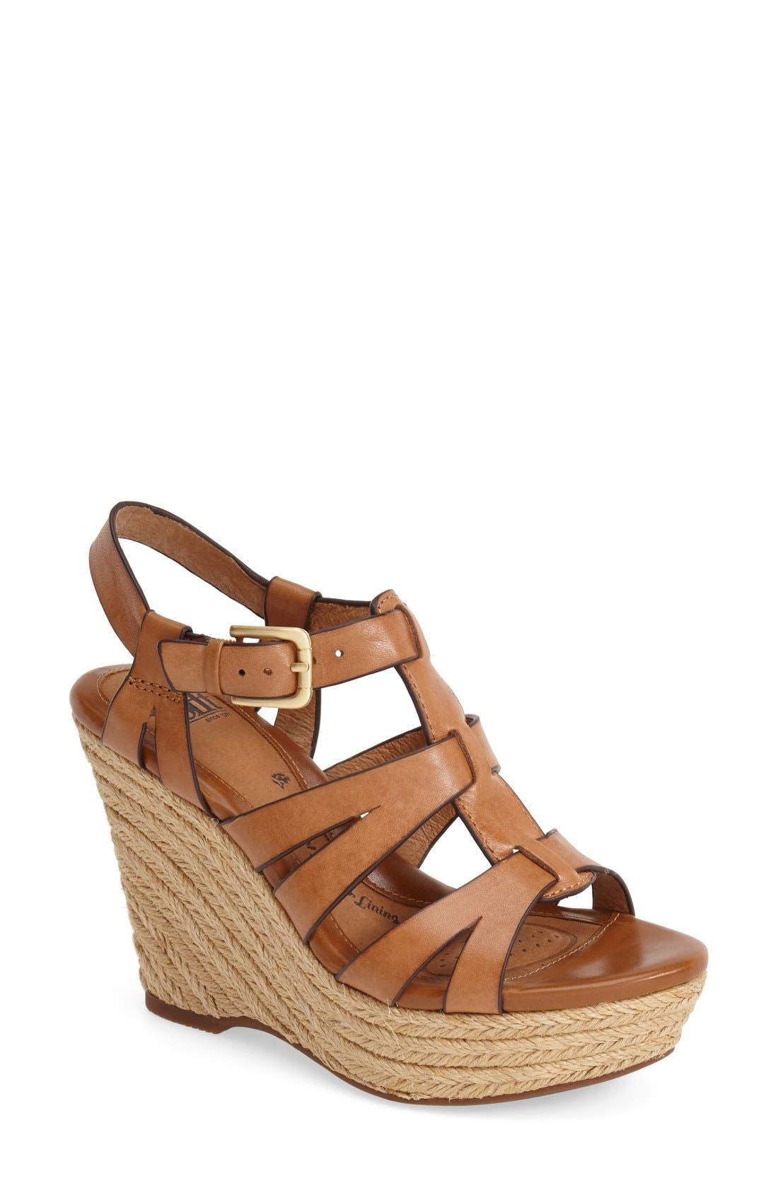Alternate Image 1 Selected - Söfft 'Pahana' Espadrille Wedge Sandal (Women)