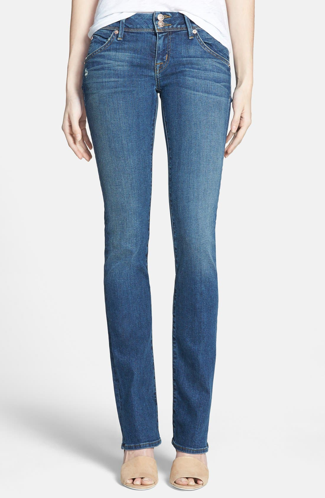 Alternate Image 1 Selected - Hudson Jeans 'Beth Baby Boot' Skinny Jeans (Hollywoodland)