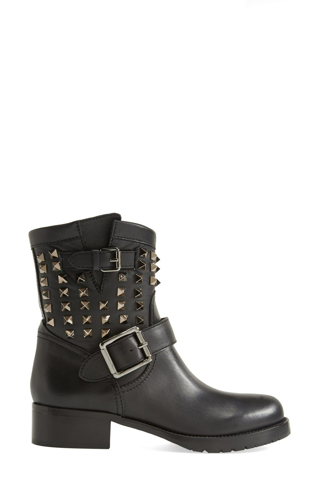 Alternate Image 4  - Valentino 'Rockstud' Biker Boot