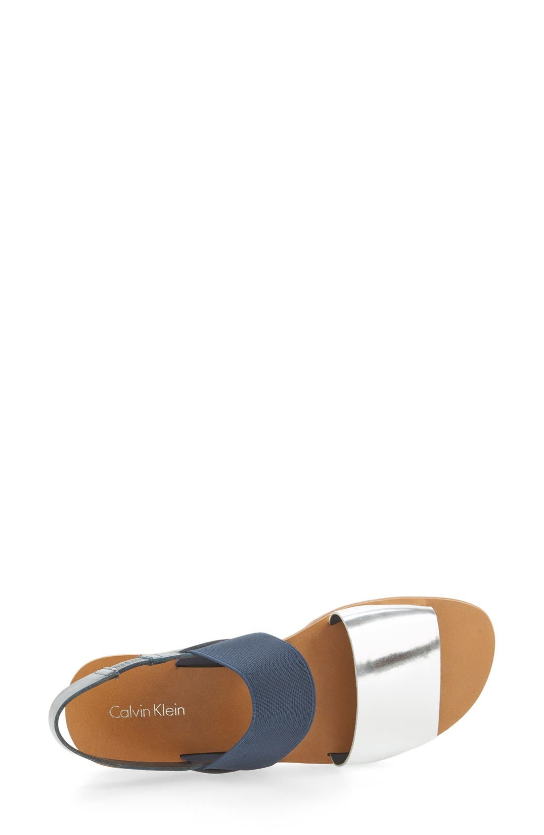 Alternate Image 3  - Calvin Klein 'Prisma' Double Band Sport Sandal (Women)