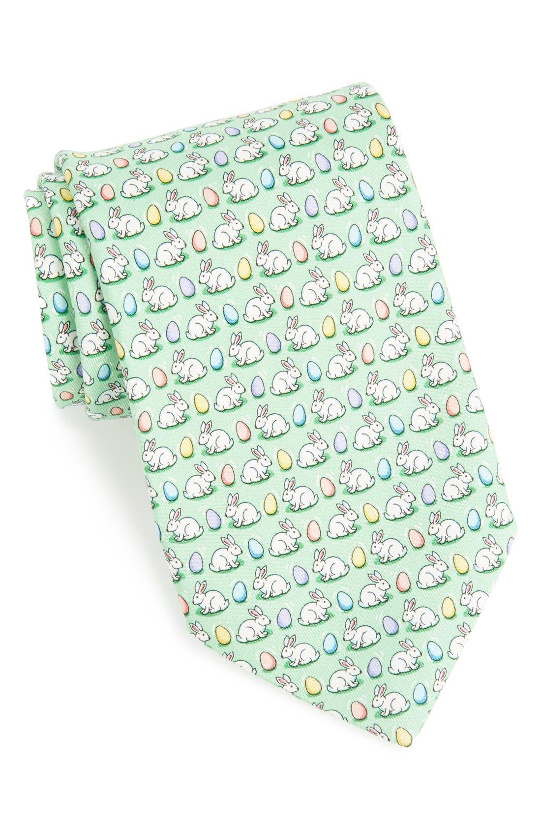 Main Image - Vineyard Vines Easter Print Tie