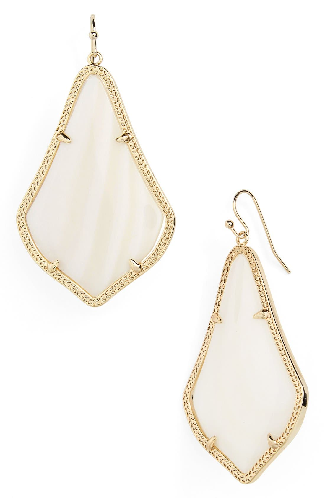Alternate Image 1 Selected - Kendra Scott 'Alexandra' Large Drop Earrings