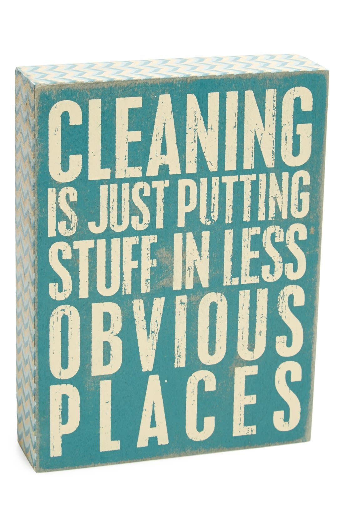 Main Image - Primitives by Kathy 'Cleaning' Box Sign