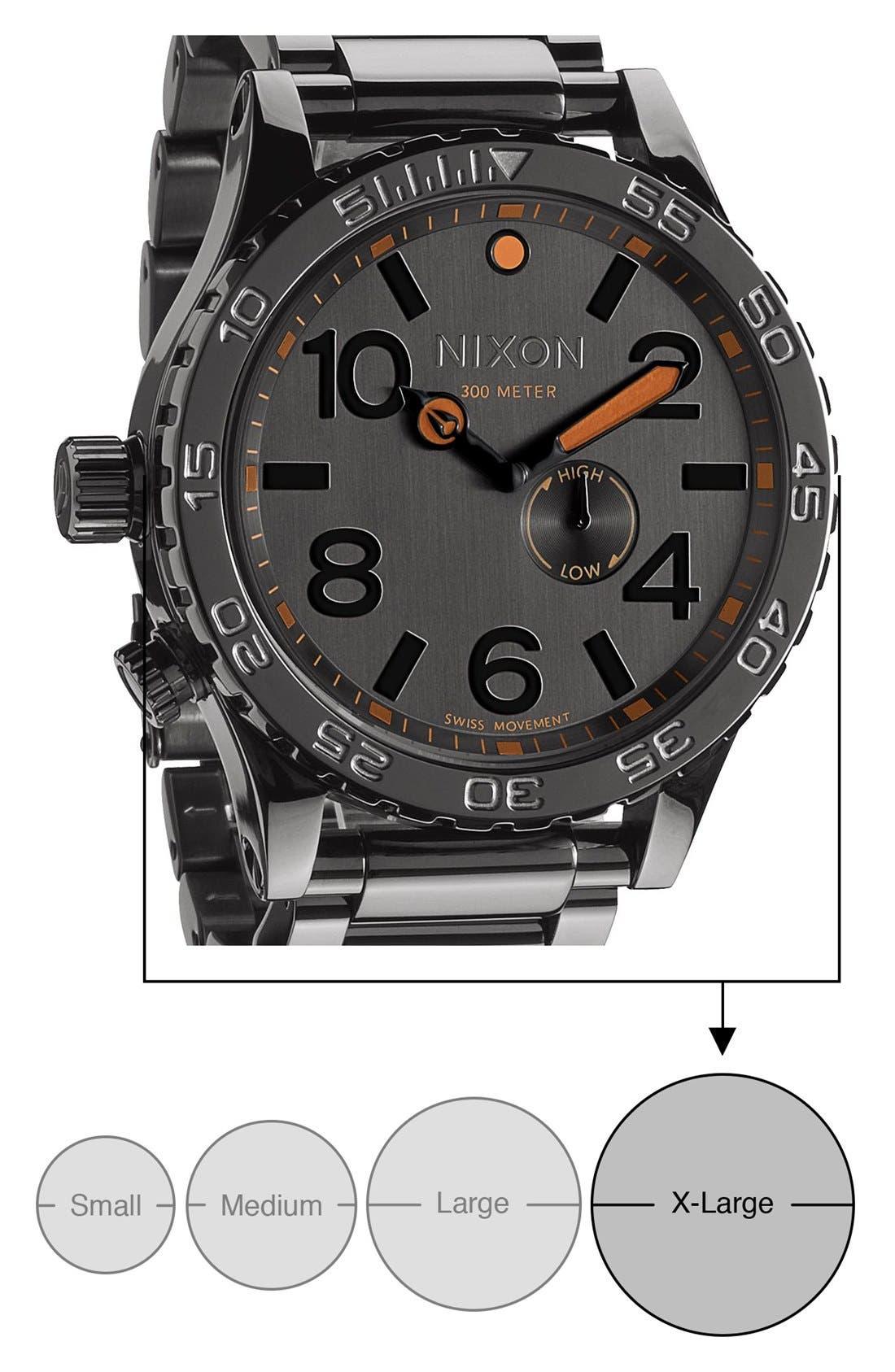 Alternate Image 4  - Nixon 'The 51-30' Bracelet Watch