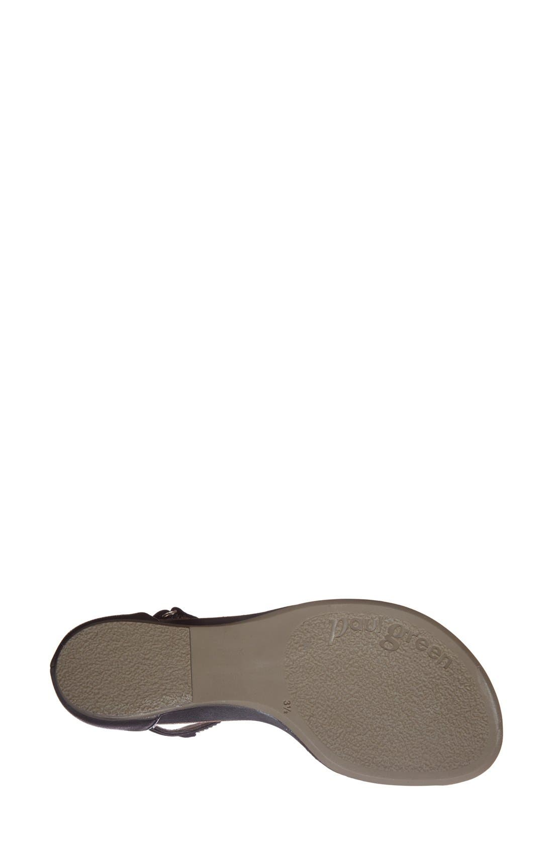 Alternate Image 4  - Paul Green 'Cotie' Ankle Strap Flat Sandal (Women)