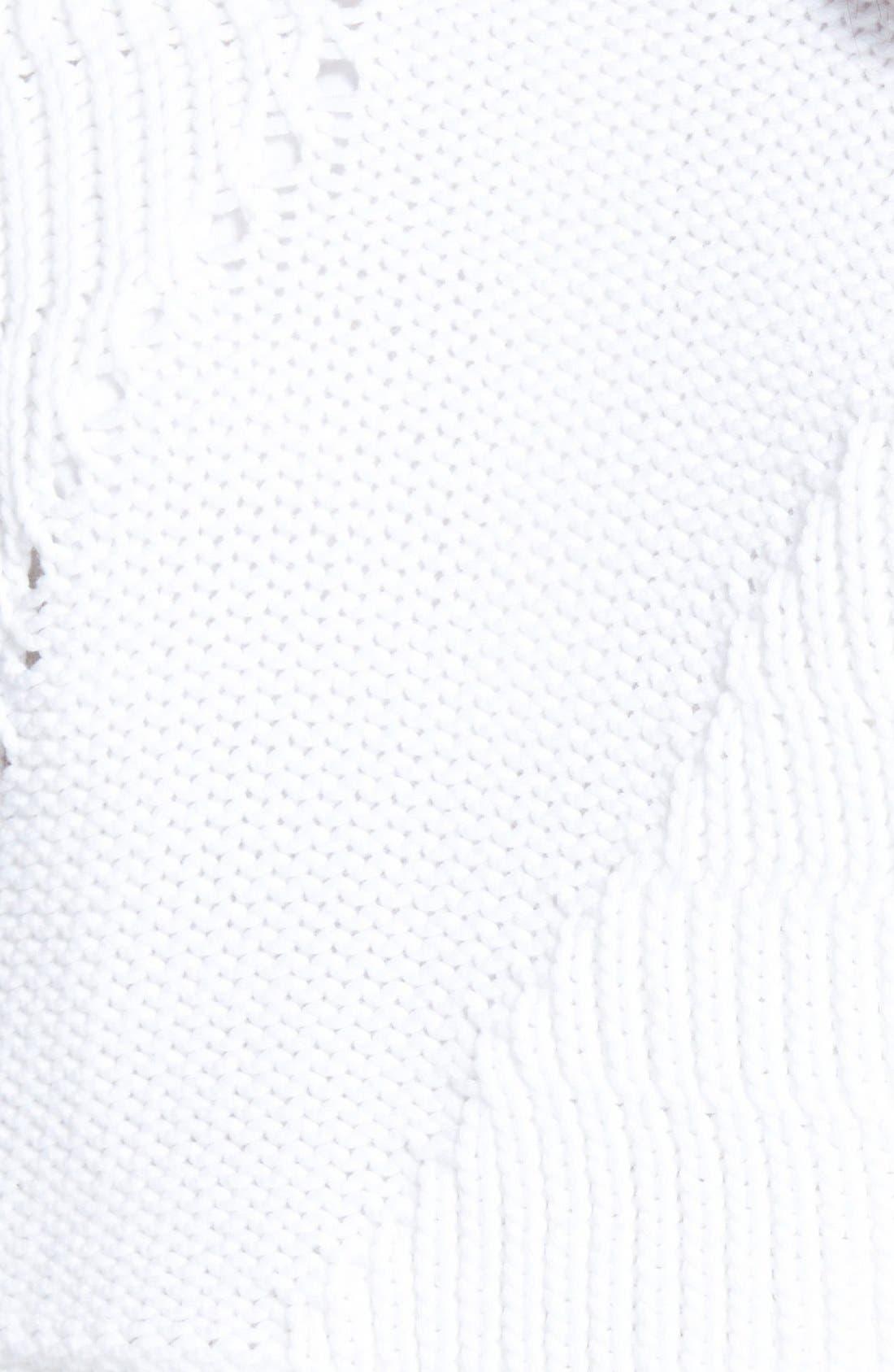 Alternate Image 3  - Elie Tahari 'Elenore' Layered Sweater
