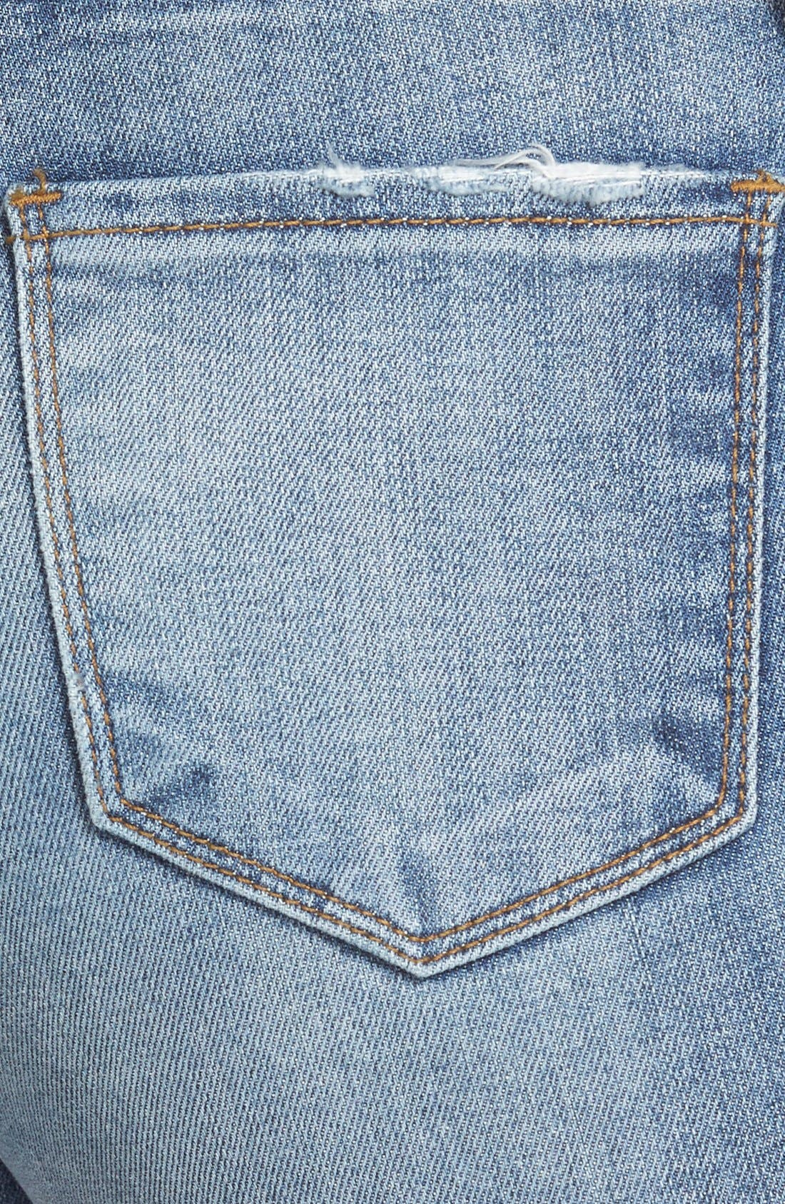 Alternate Image 3  - KUT from the Kloth 'Reese' Distressed Stretch Ankle Straight Leg Jeans (Fantastic)