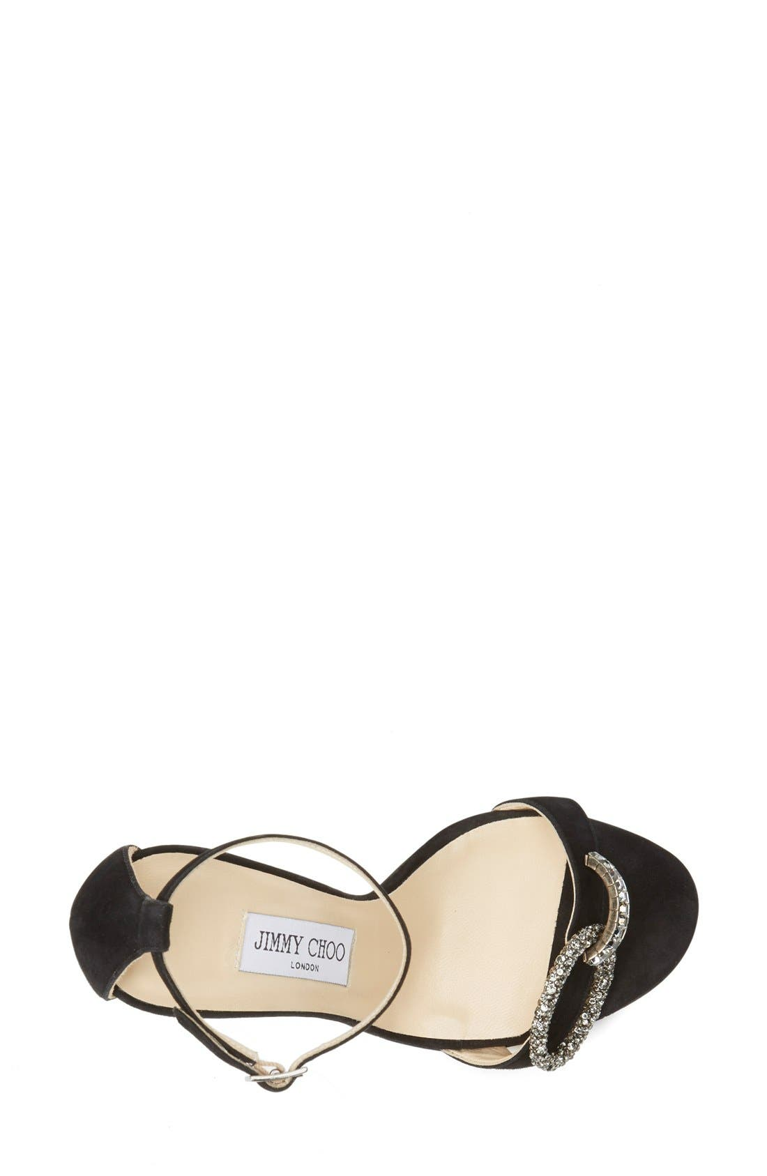 Alternate Image 3  - Jimmy Choo 'Tamsyn' Suede Sandal (Women)