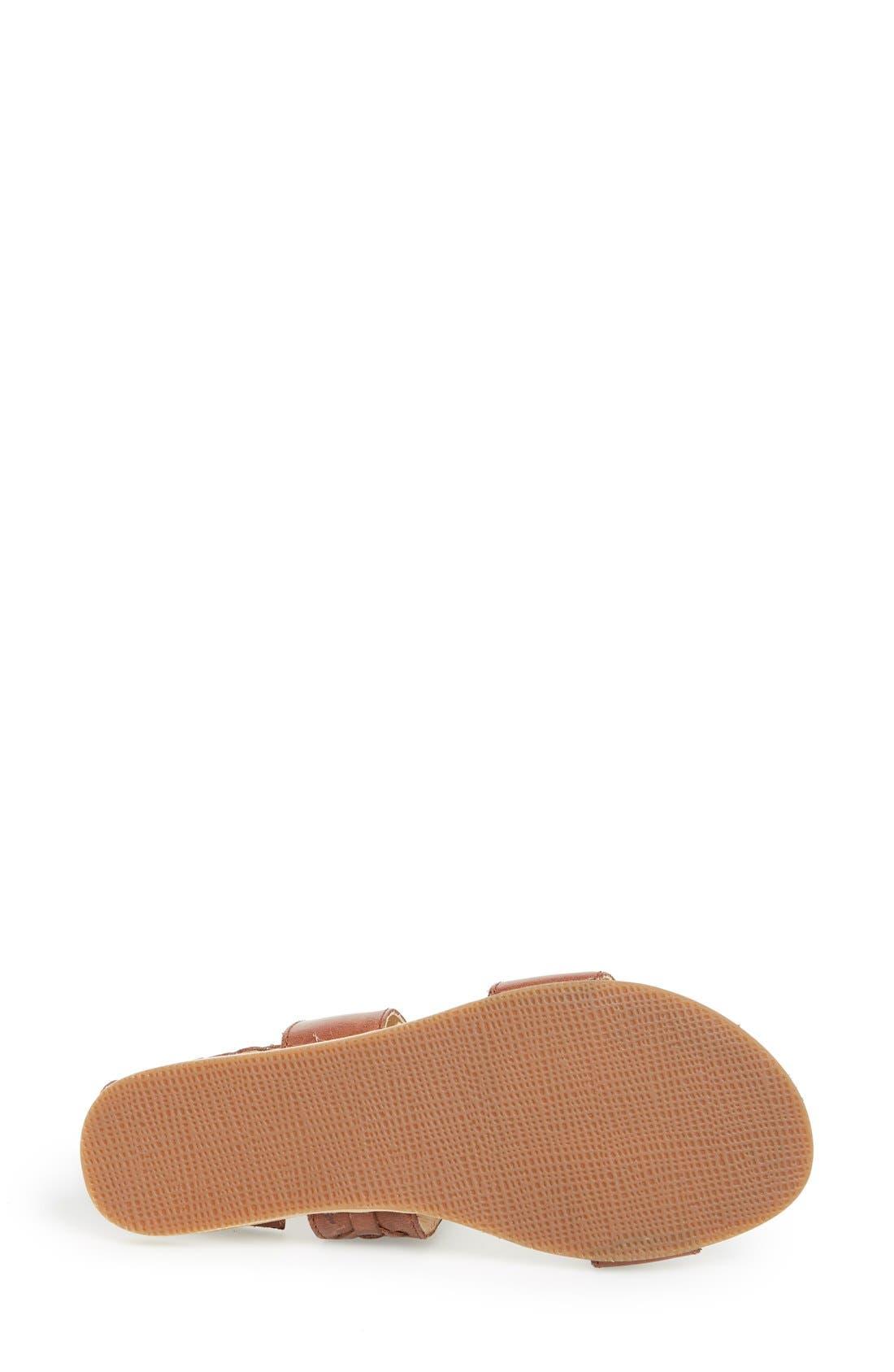 Alternate Image 4  - Koolaburra 'Alexa' Leather Ankle Strap Sandal (Women)