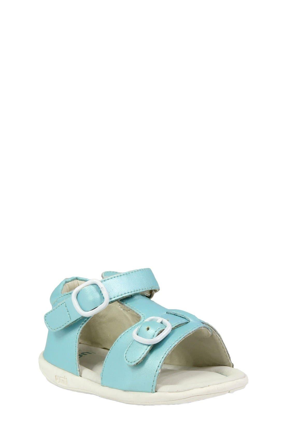 Alternate Image 1 Selected - Umi 'Noel' Sandal (Baby, Walker & Toddler)