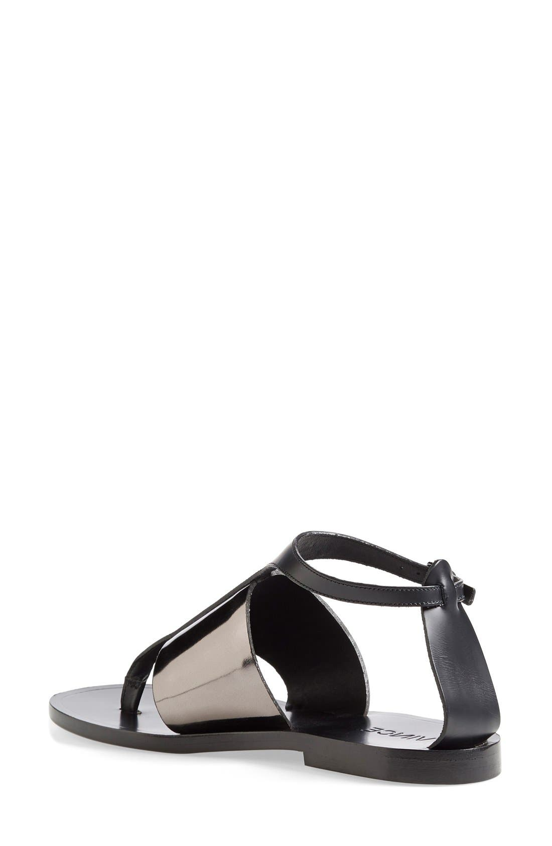 Alternate Image 4  - Vince 'Thea' Ankle Strap Thong Sandal (Women)