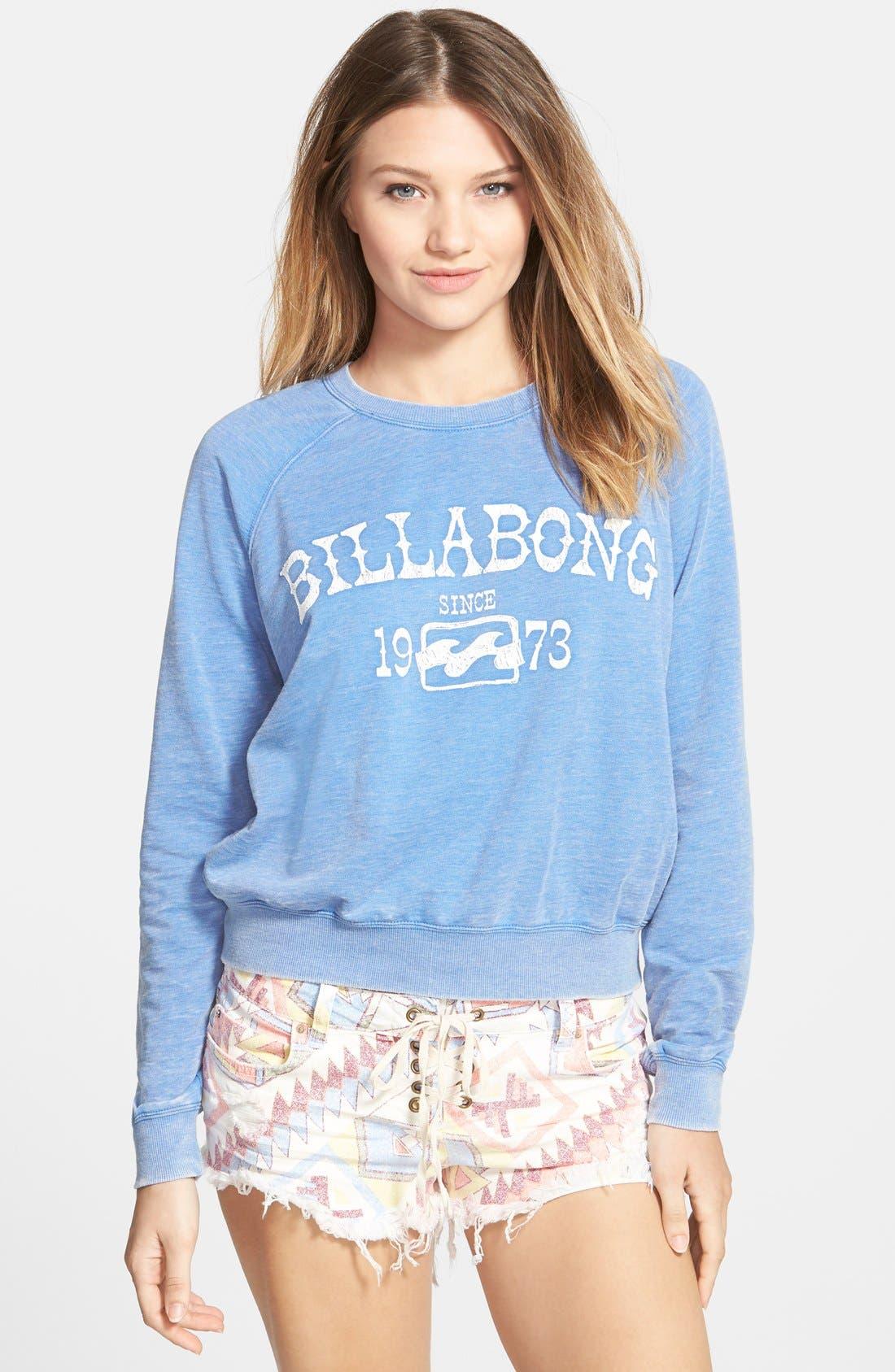 Alternate Image 1 Selected - Billabong 'Falling Back' Pullover