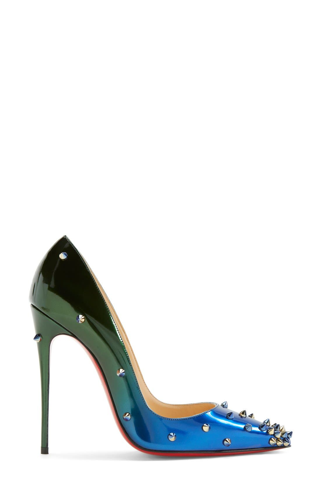 Alternate Image 4  - Christian Louboutin 'Degraspike' Pointy Toe Pump