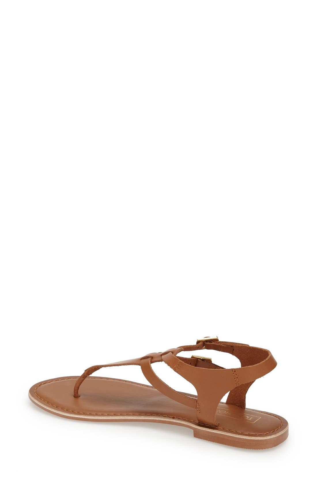 Alternate Image 2  - Topshop 'Harbour' Strappy Leather Thong Sandal (Women)