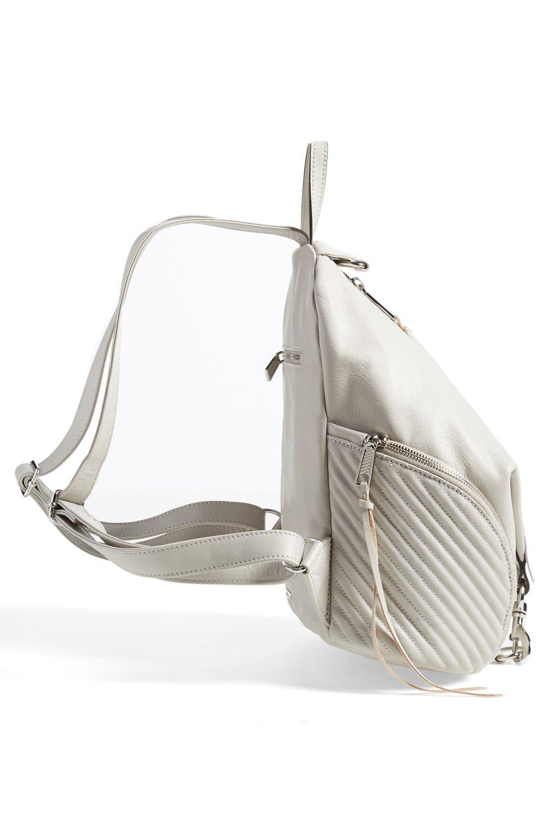 Alternate Image 5  - Rebecca Minkoff 'Line Quilted Julian' Backpack