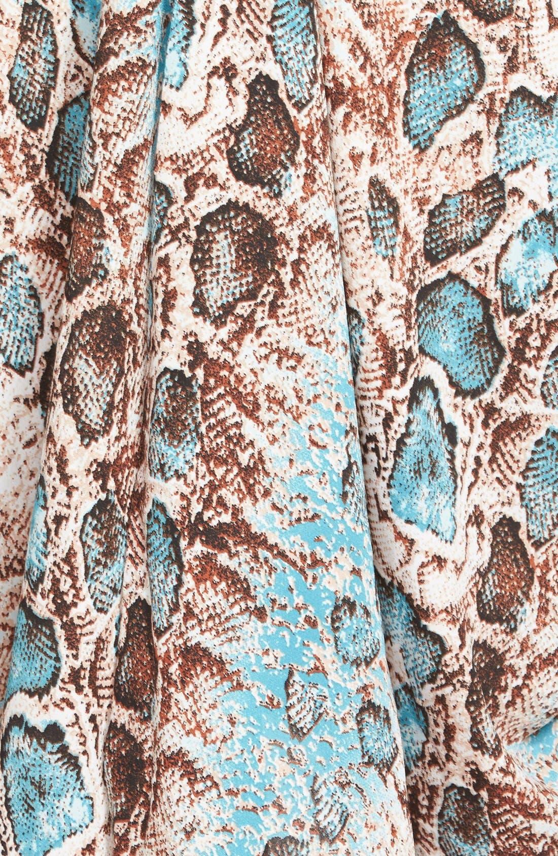 Alternate Image 3  - Filtre Drapey Halter Dress