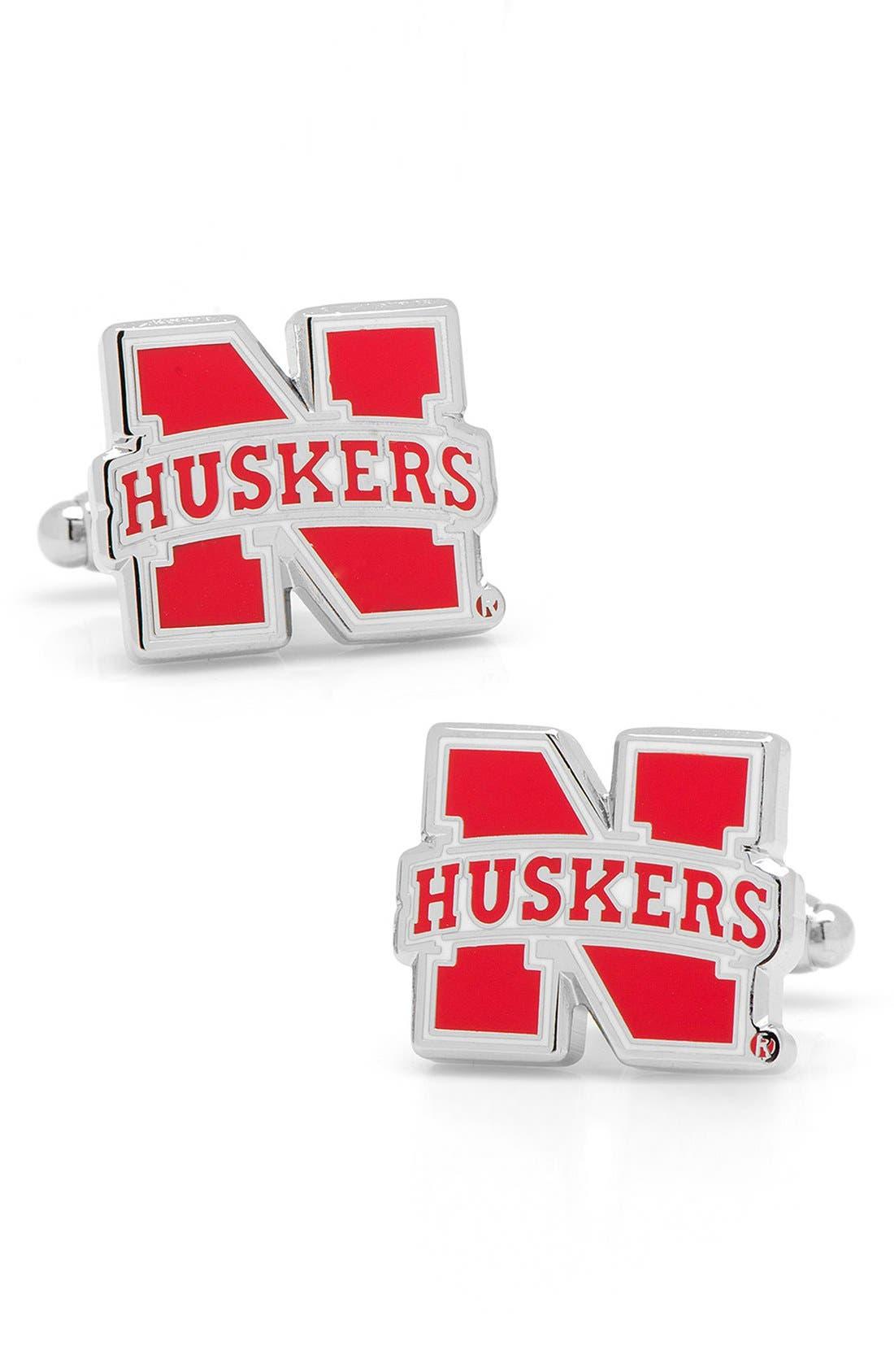 CUFFLINKS, INC. 'Nebraska Cornhuskers' Cuff Links