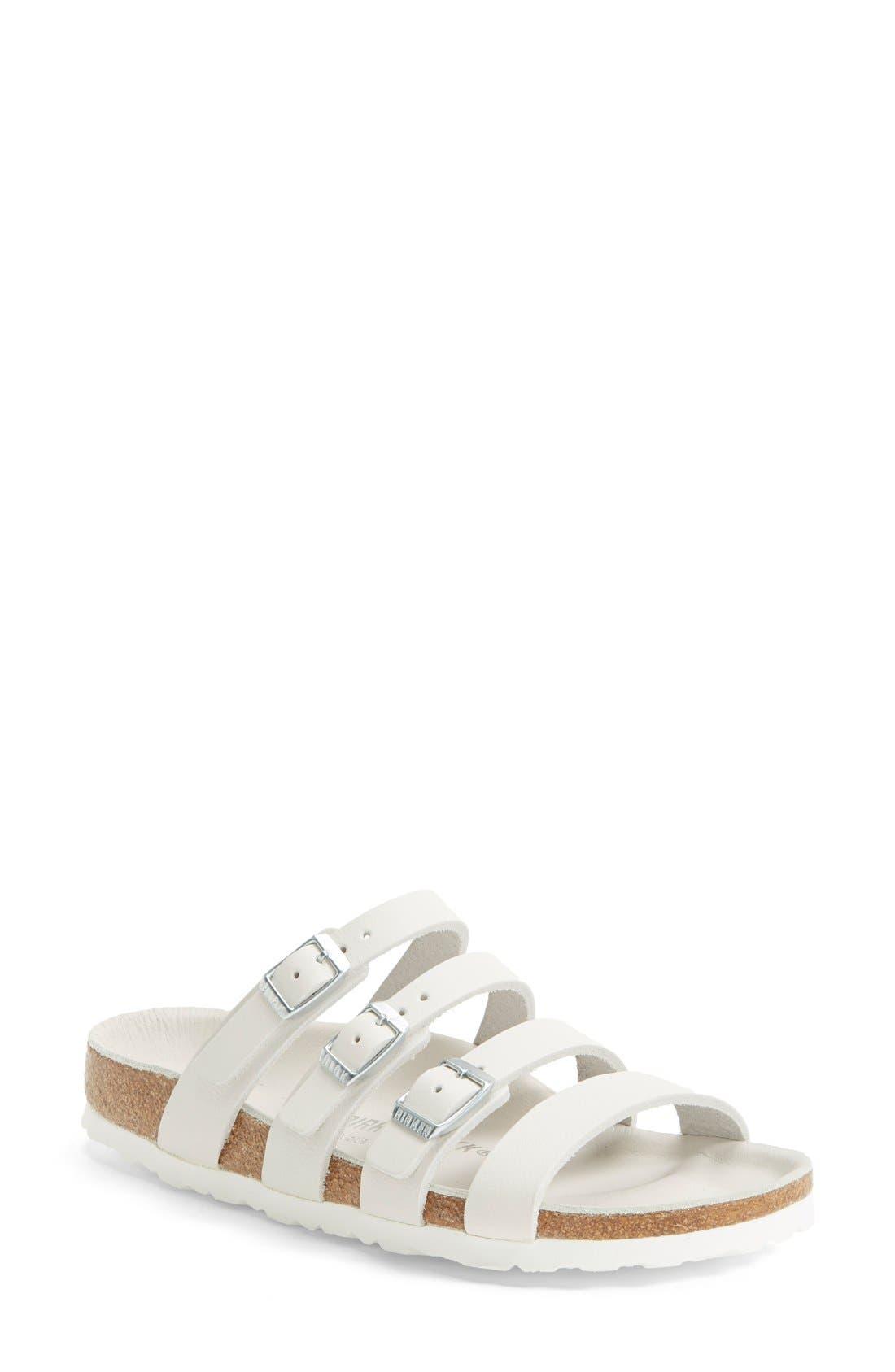 Main Image - Birkenstock 'Delmas' Leather Sandal (Women)