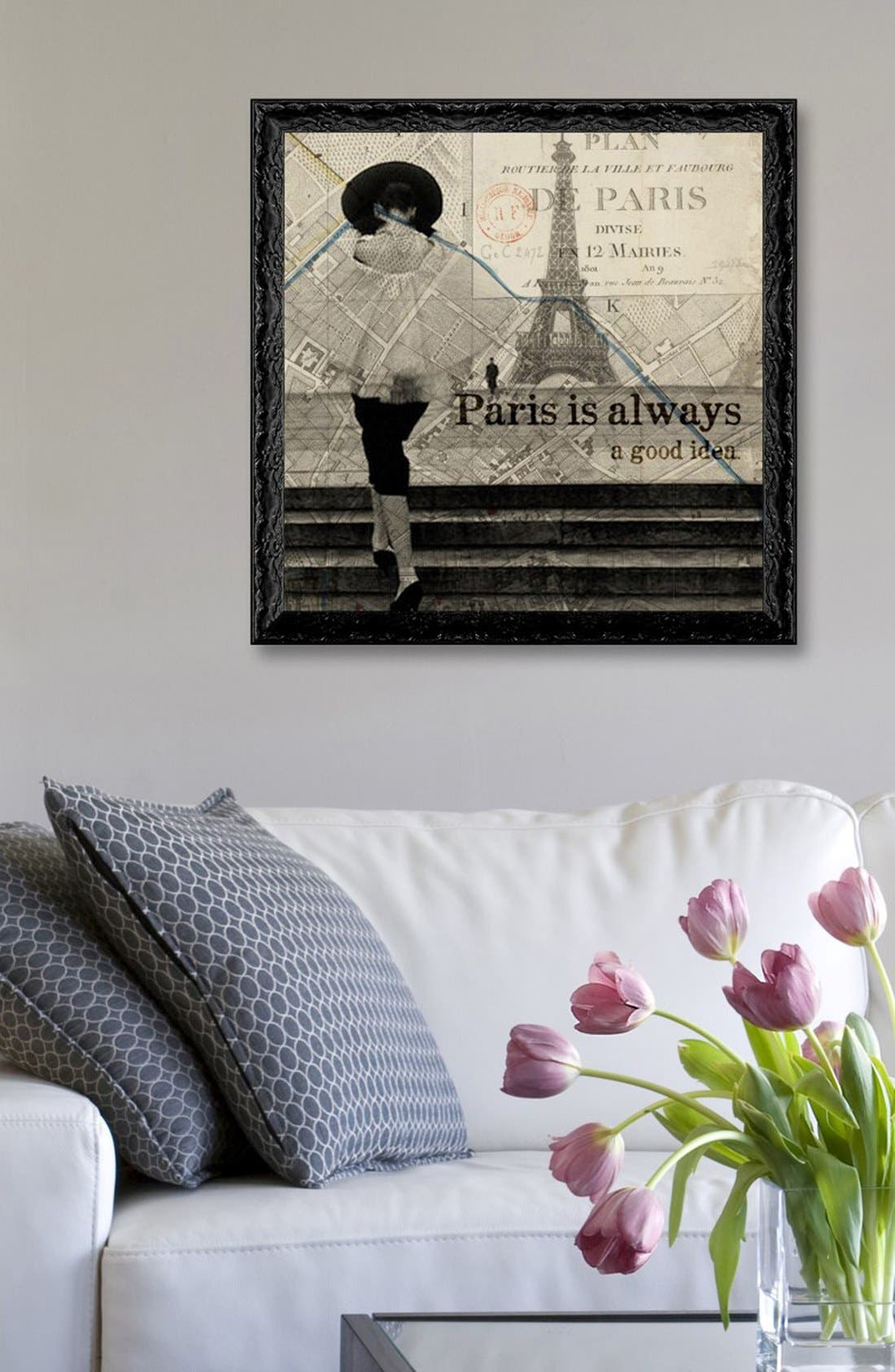 Alternate Image 2  - Oliver Gal 'Paris Is Always a Good Idea' Framed Art Print
