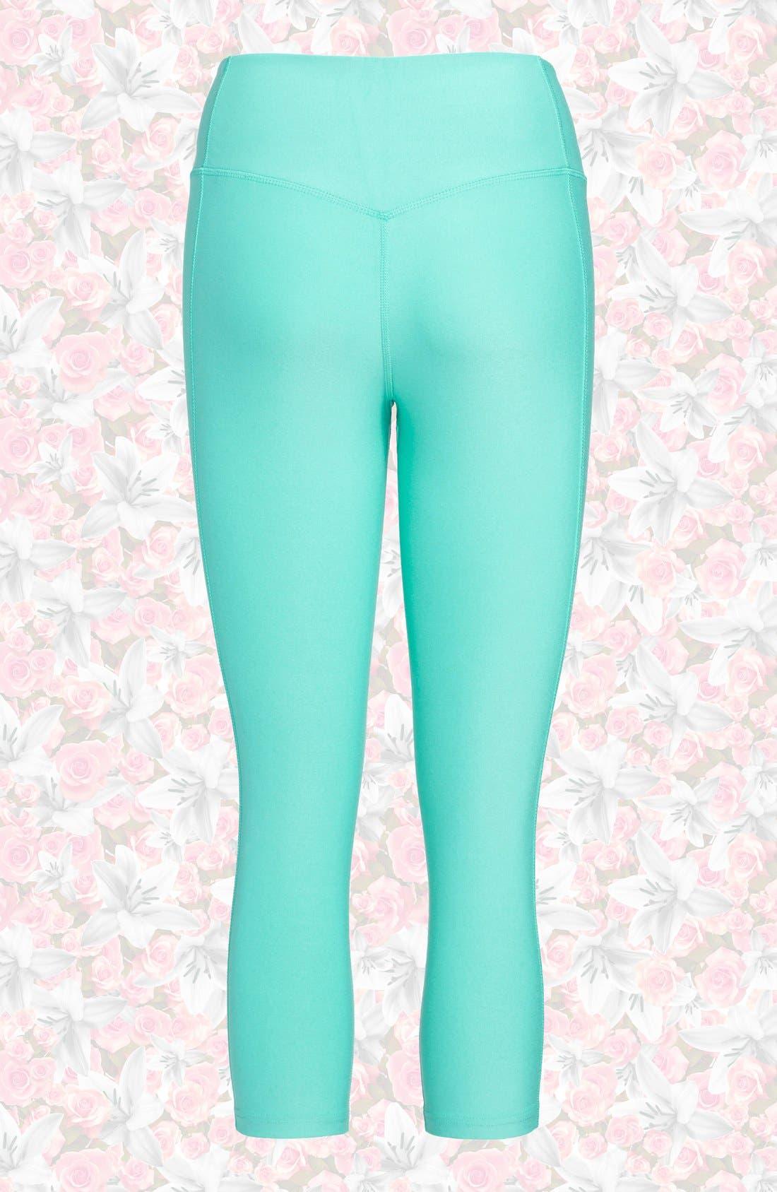 Alternate Image 2  - Nike 'Legend 2.0 Tight Poly' Dri-FIT Training Capri Leggings (Women)