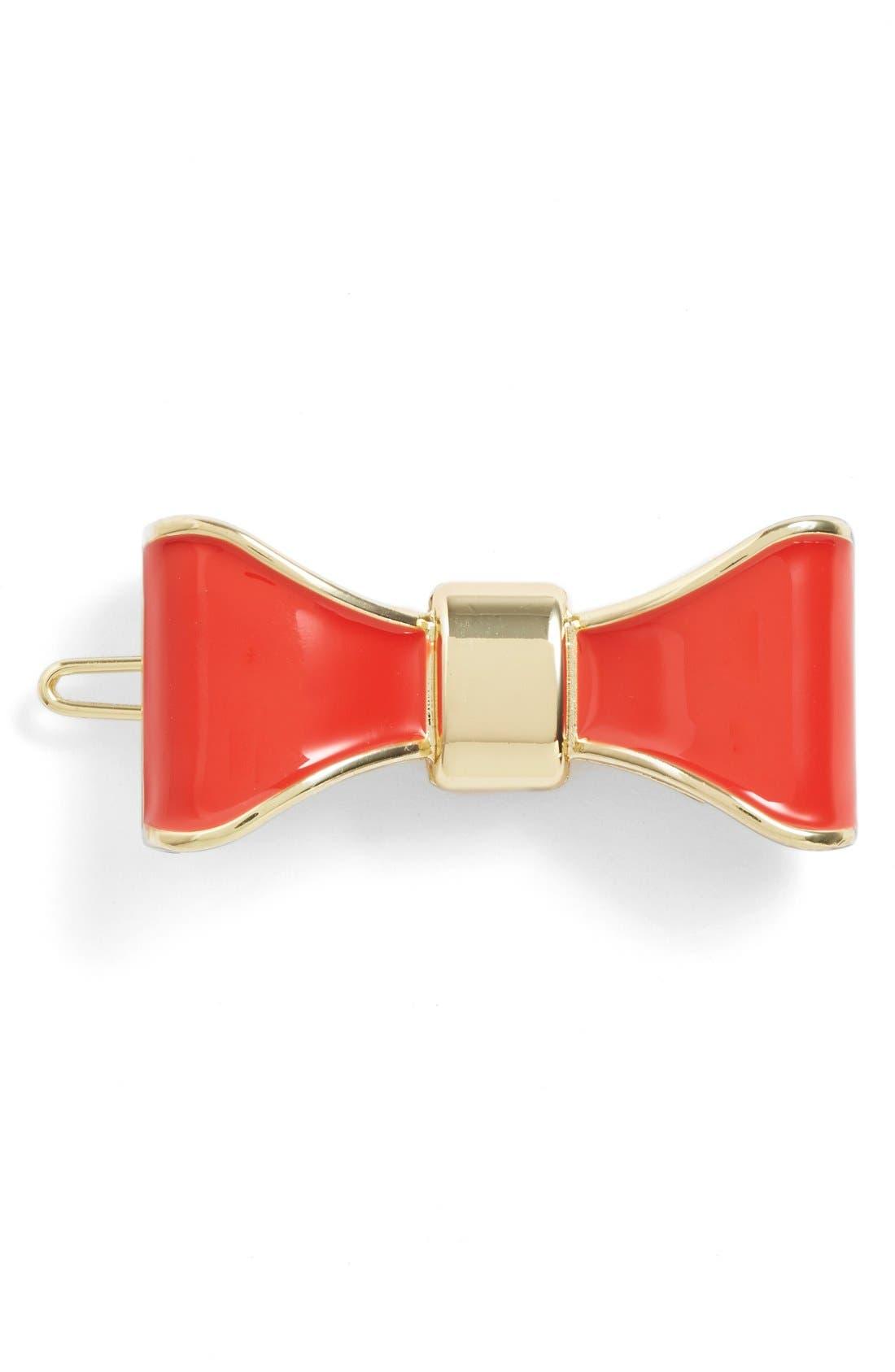 L. Erickson 'Prim' Bow Tige Boule Barrette