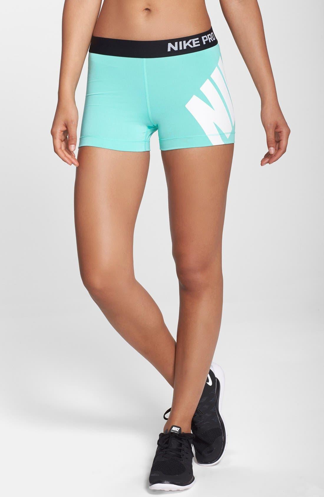 Alternate Image 1 Selected - Nike 'Pro' Logo Shorts