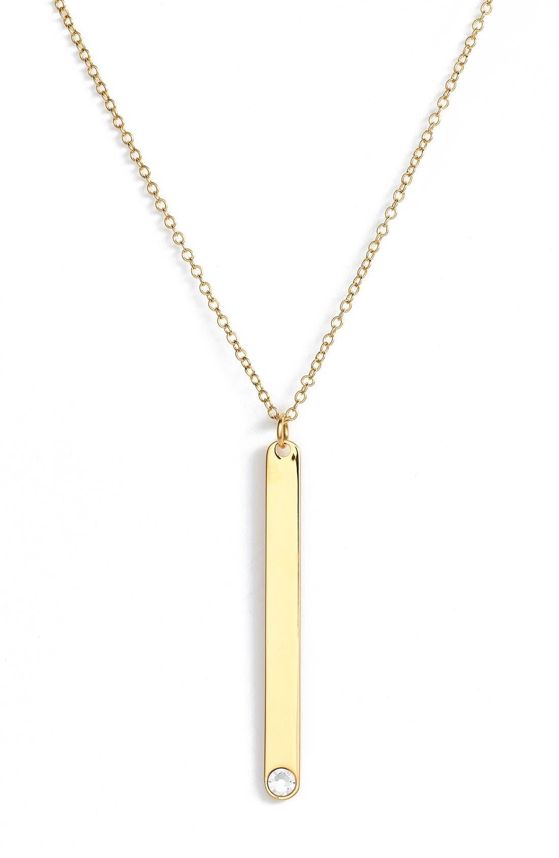 Alternate Image 4  - BaubleBar 'Modern Metallics' 14k-Gold Plate Layered Necklace (Set of 3) (Nordstrom Exclusive)