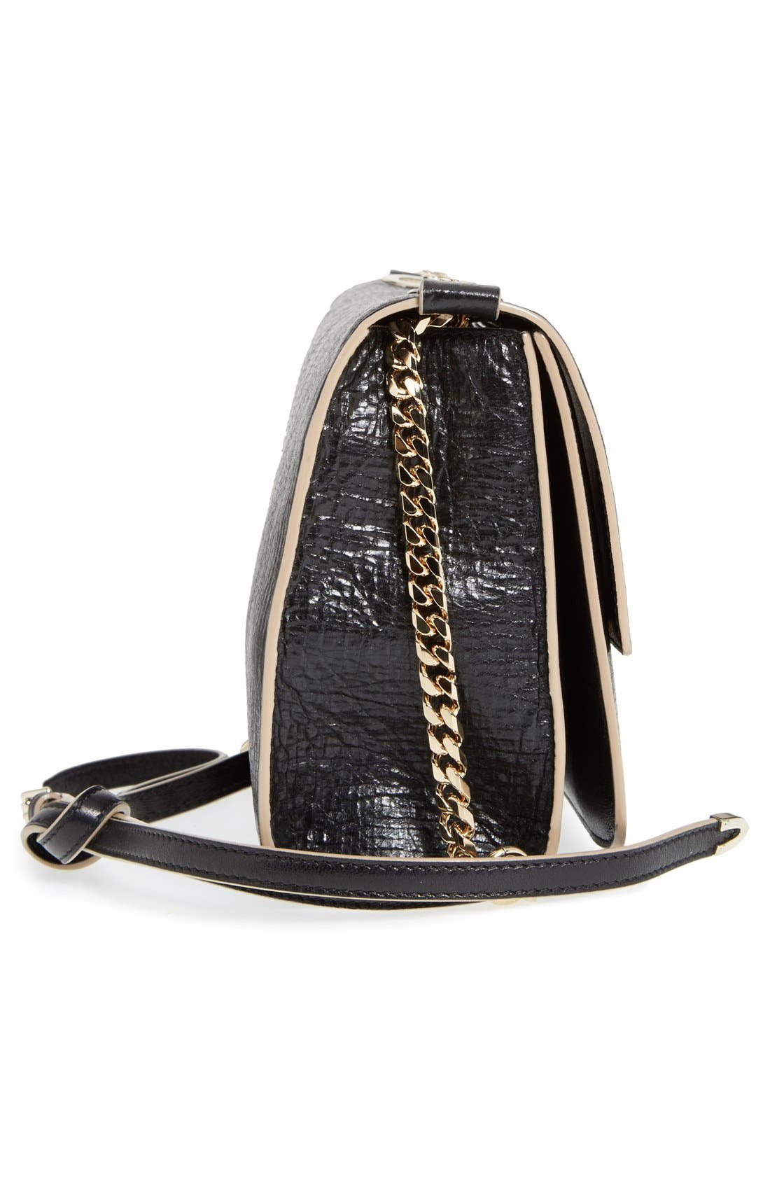 Alternate Image 5  - Jimmy Choo 'Rebel' Washed Leather Shoulder Bag