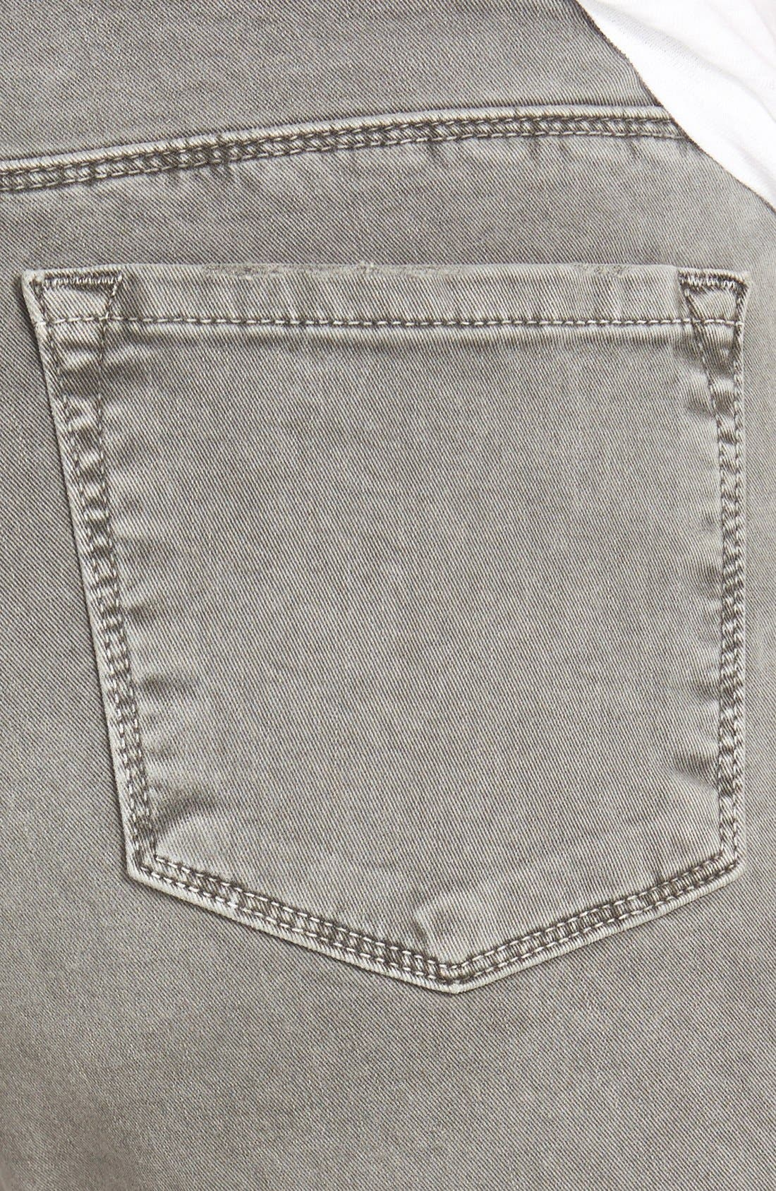 Alternate Image 3  - J Brand Mid Rise Skinny Jeans