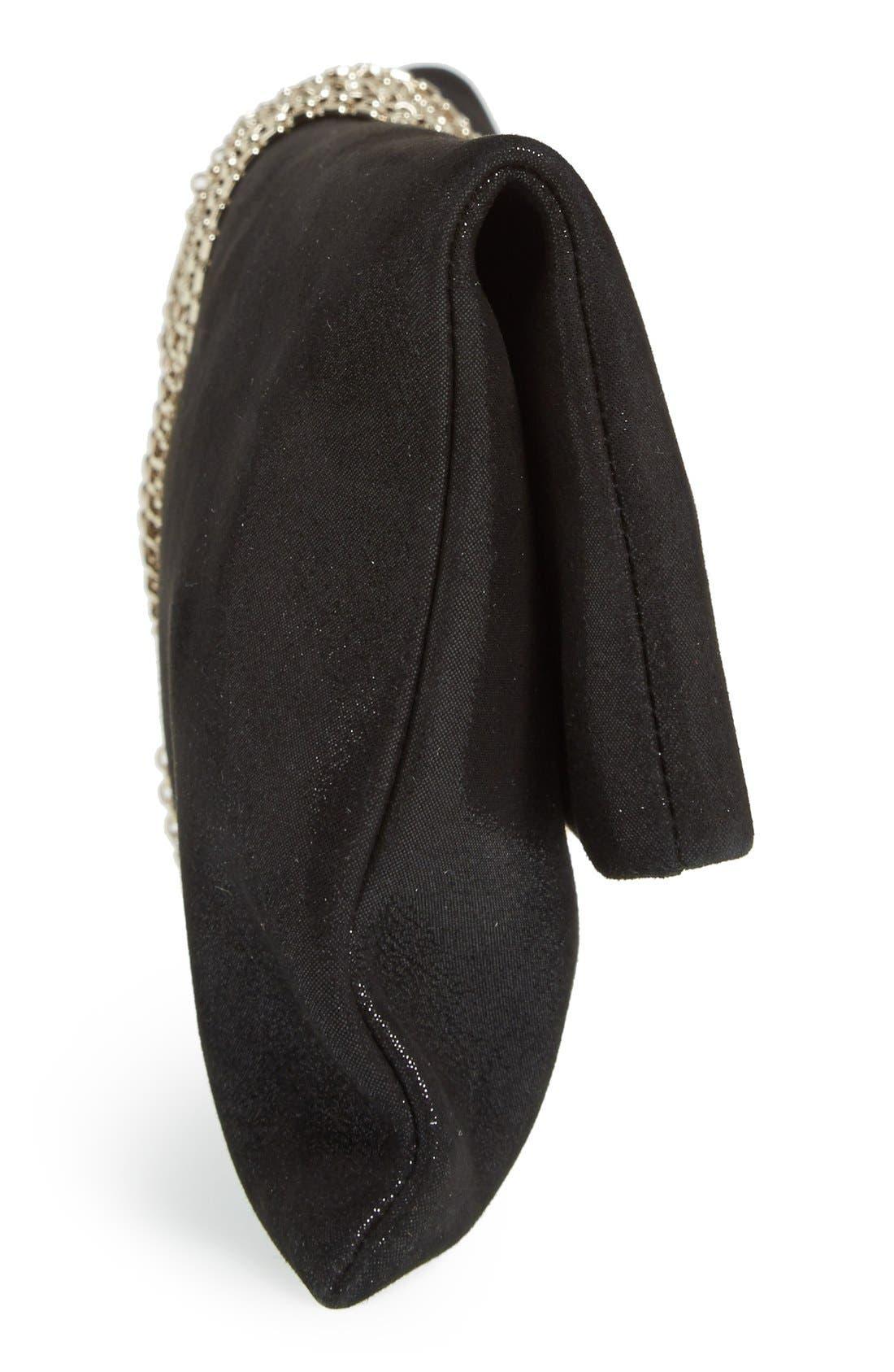 Alternate Image 5  - Jimmy Choo 'Chandra' Leather Clutch