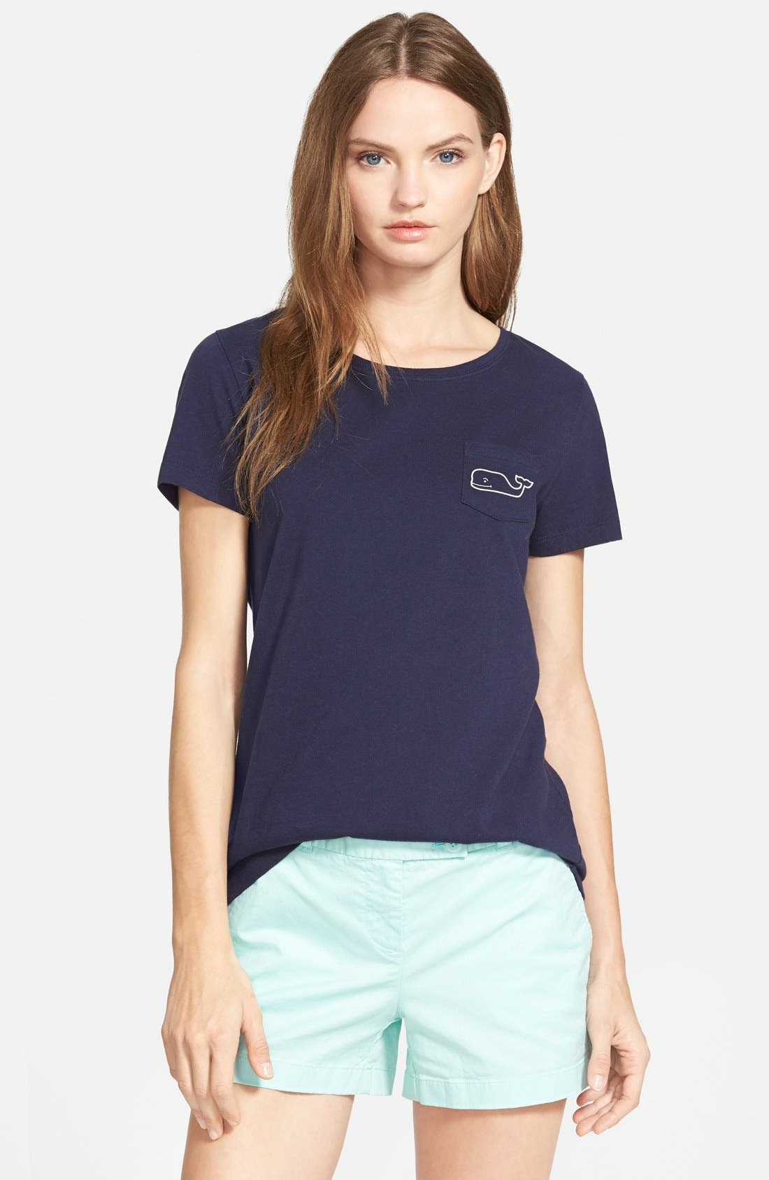 Main Image - Vineyard Vines 'Whale Tail' Pocket Tee