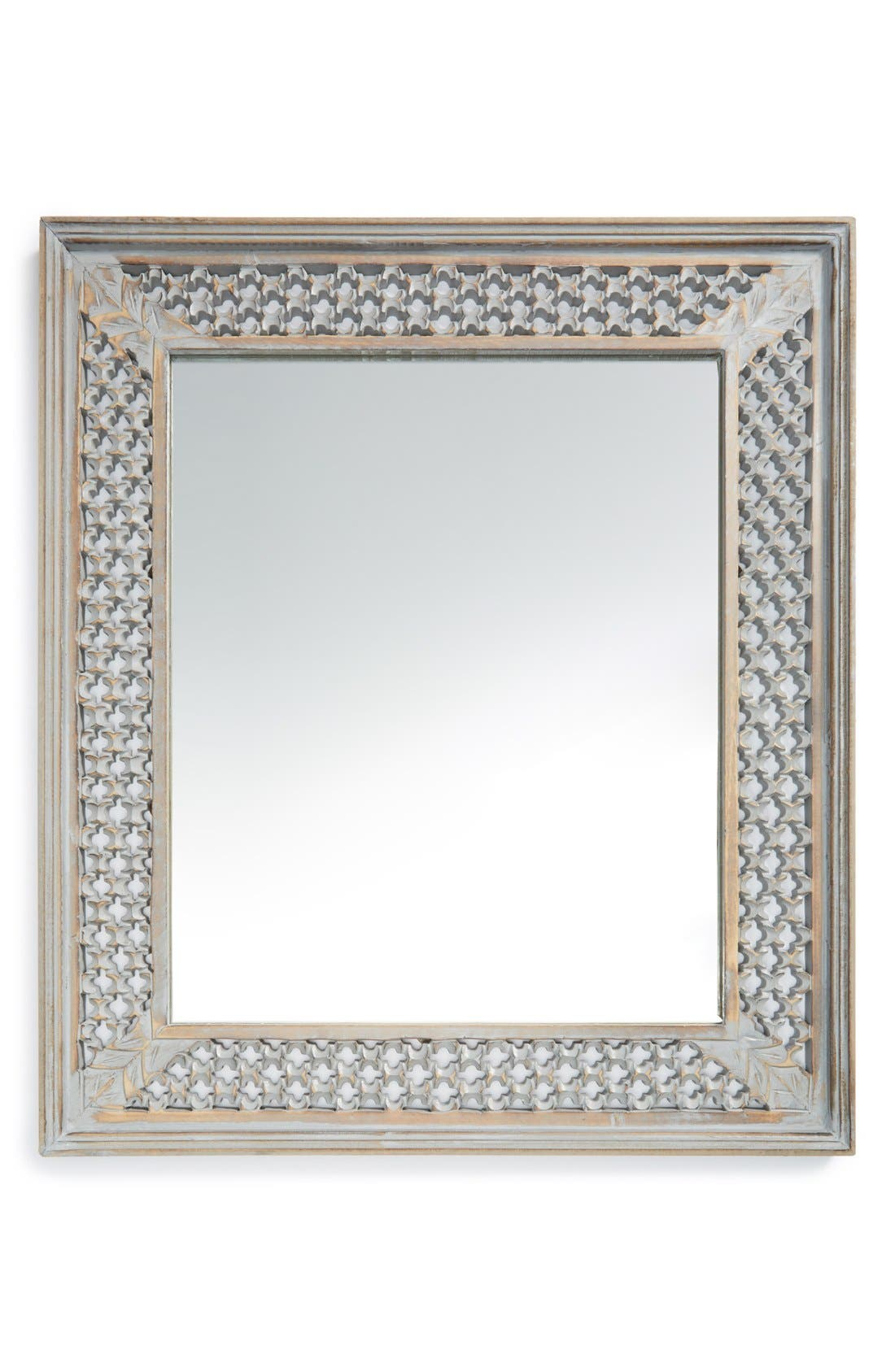 Alternate Image 1 Selected - Era Home Distressed Wood Mirror
