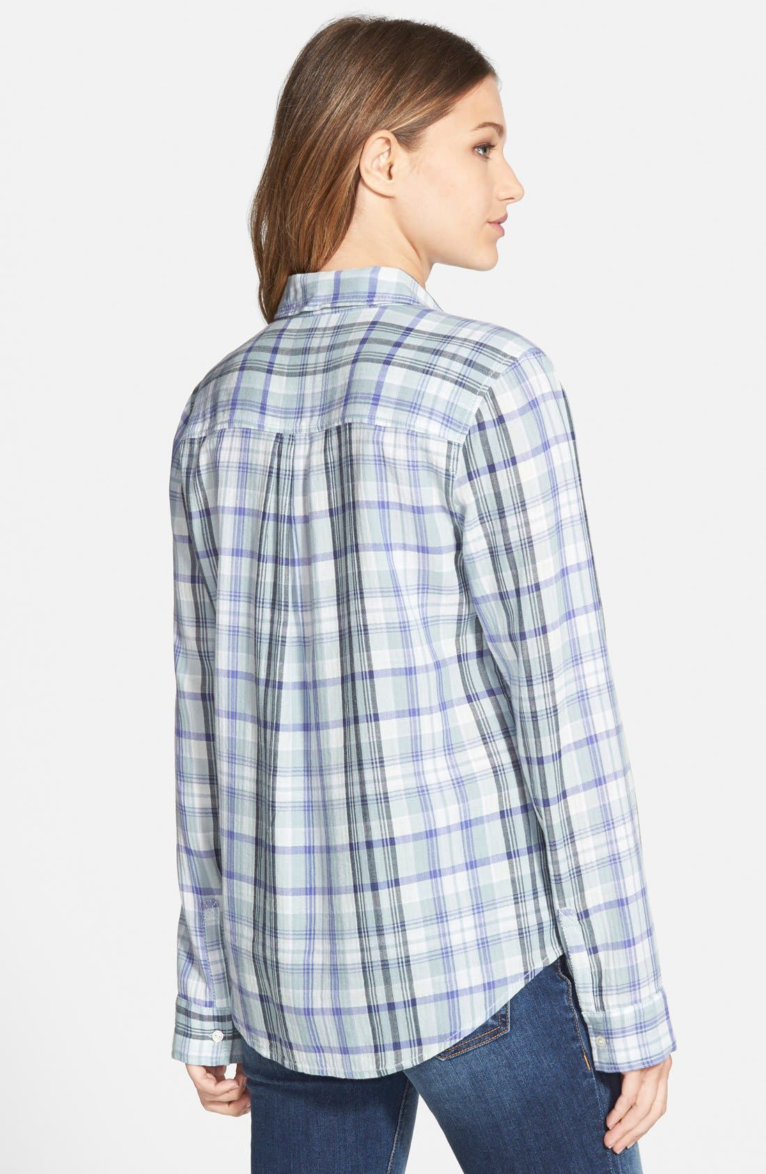 Alternate Image 2  - BP. Plaid Shirt (Juniors)
