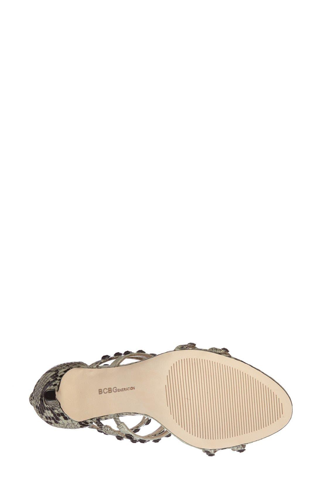 Alternate Image 2  - BCBGeneration 'Dariah' Studded T-Strap Sandal (Women)