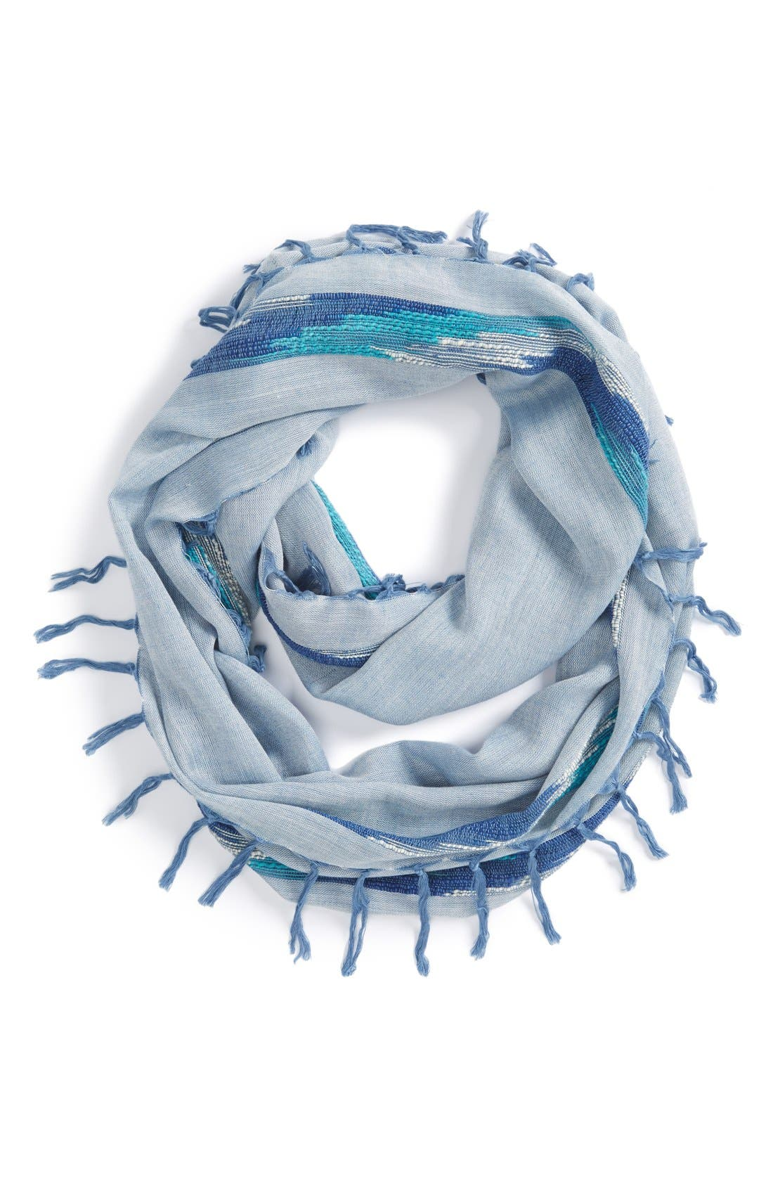 Main Image - Phase 3 'High Contrast Wave' Fringed Infinity Scarf