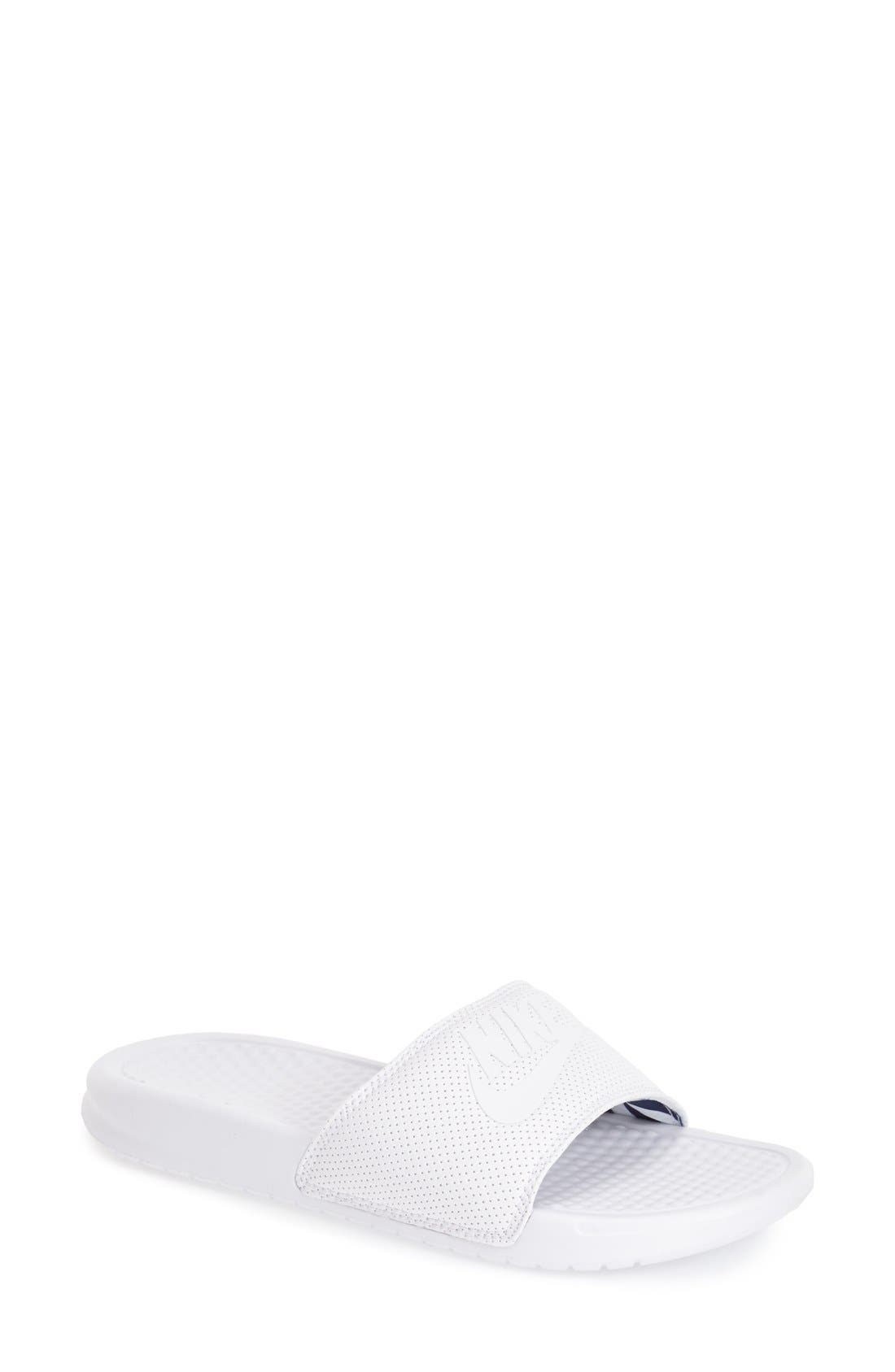 Main Image - Nike 'Benassi - Just Do It' Slide Sandal (Women)