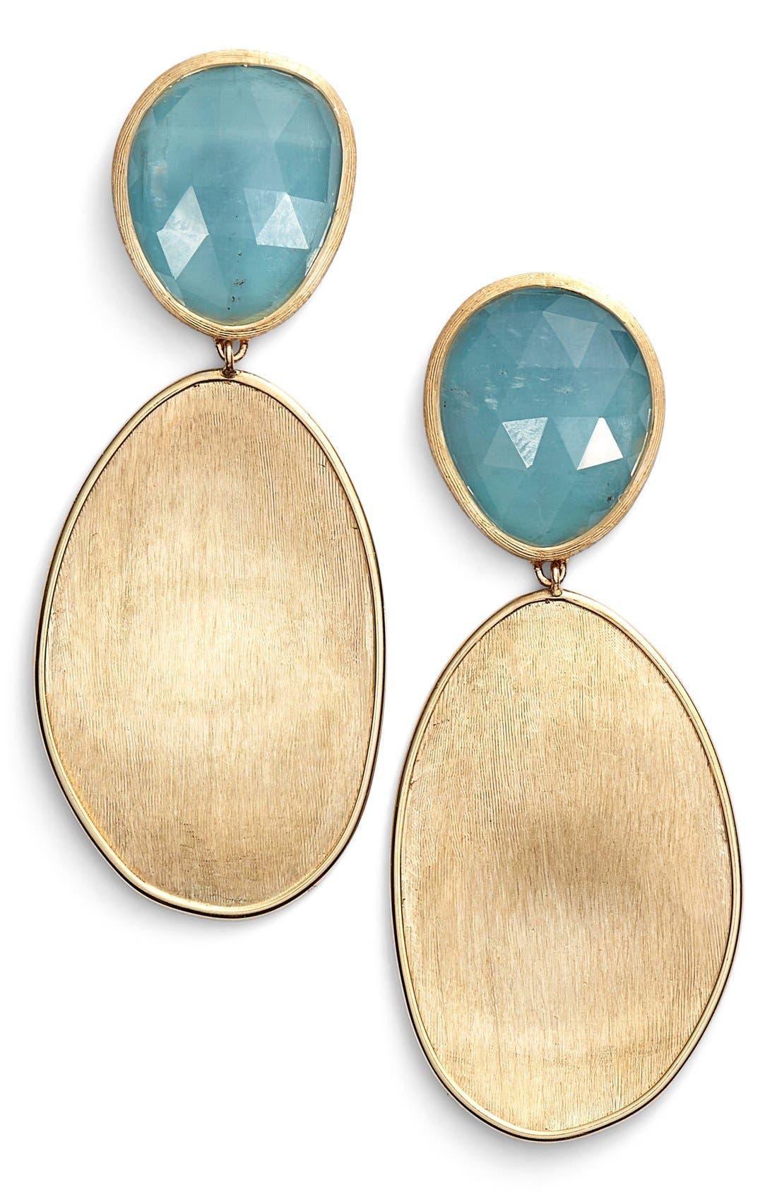 Alternate Image 1 Selected - Marco Bicego 'Lunaria' Drop Earrings