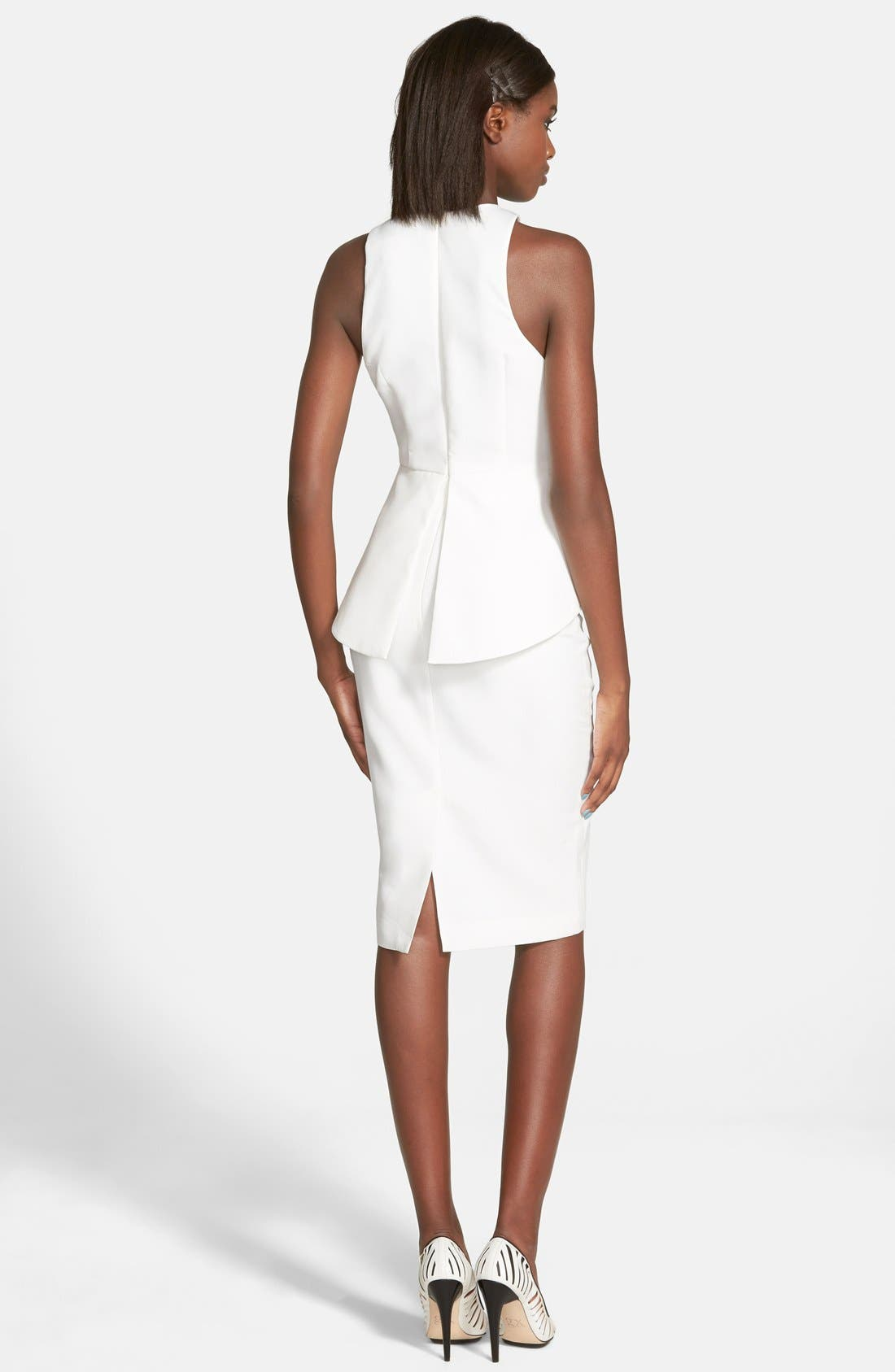 Alternate Image 2  - C/MEO Collective 'What You Know' Peplum Dress