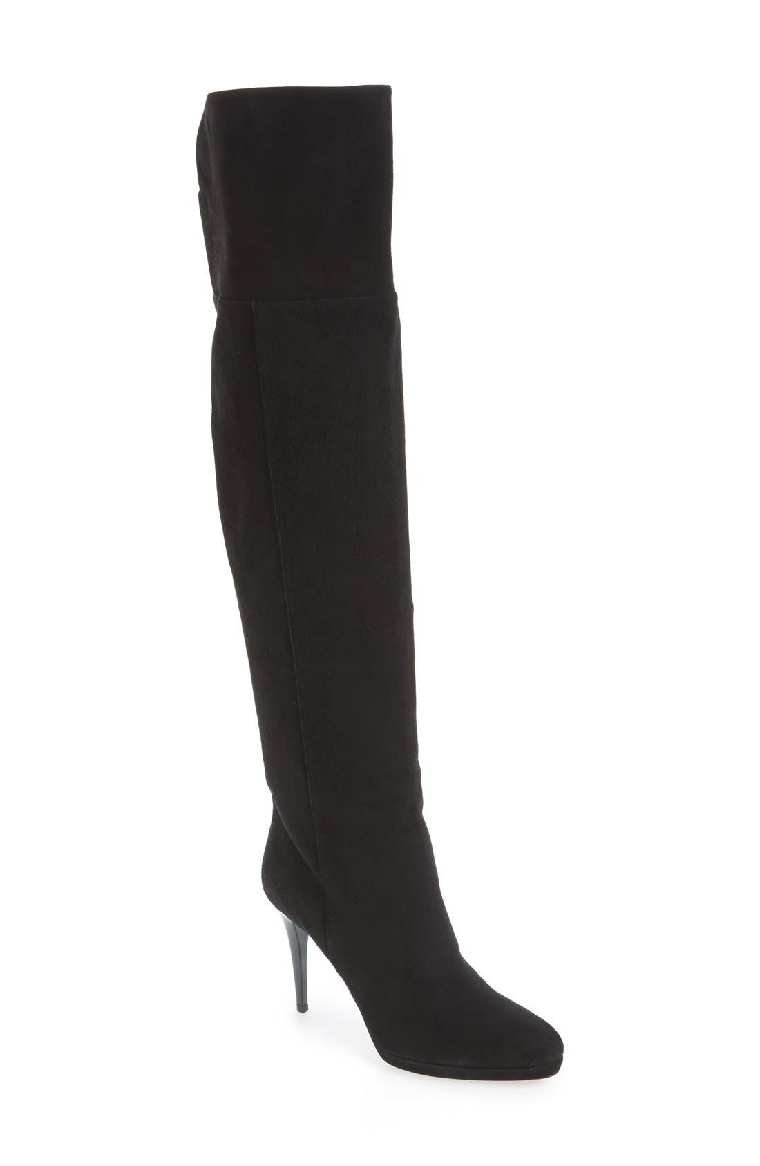 Main Image - Jimmy Choo Over the Knee Boot (Women)